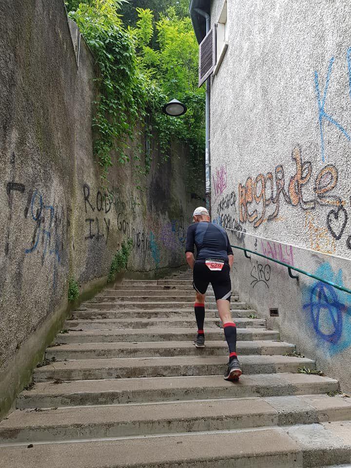 Les escaliers Nicolas De Lange : 563 marches tout droit