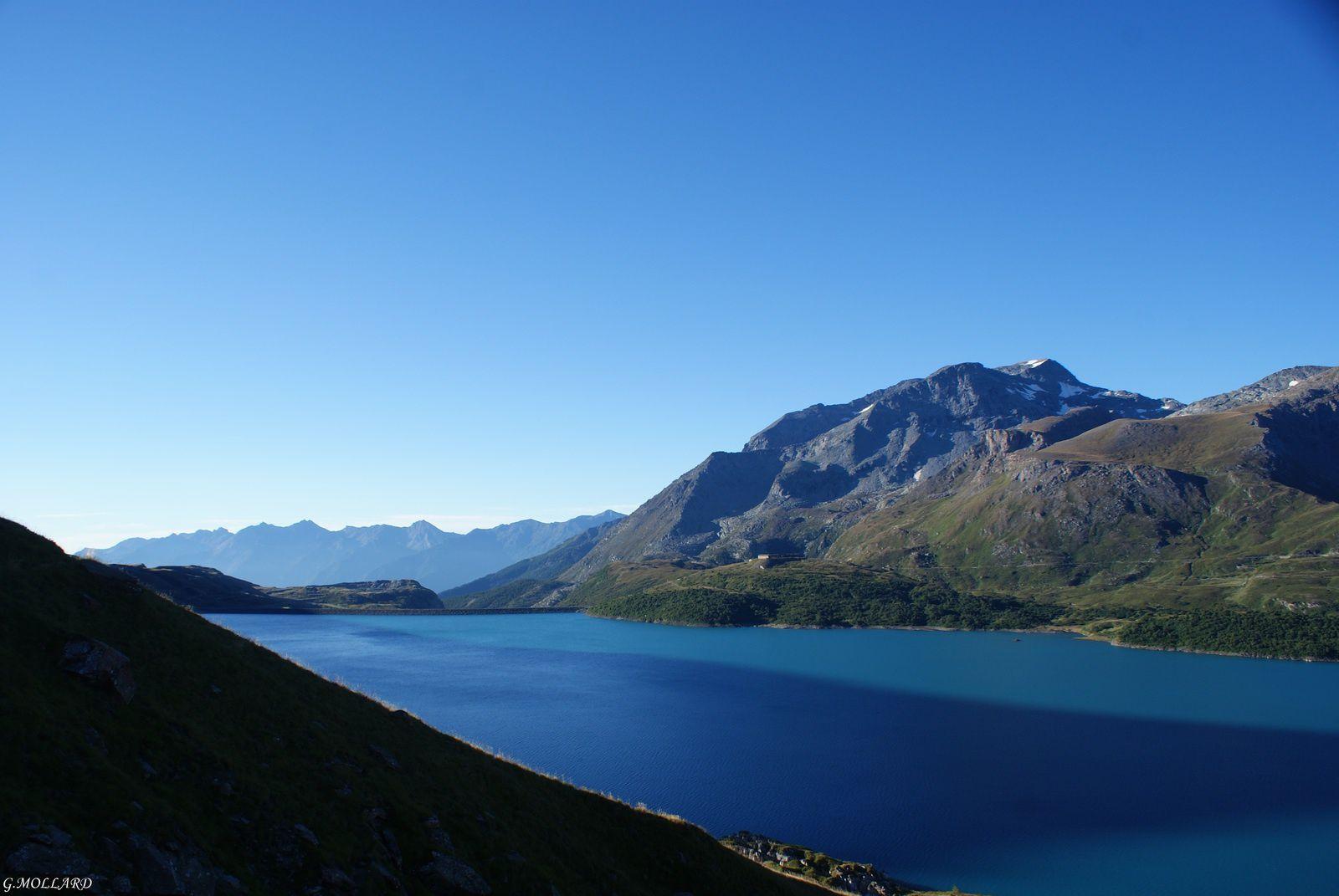 lac coté Italie.