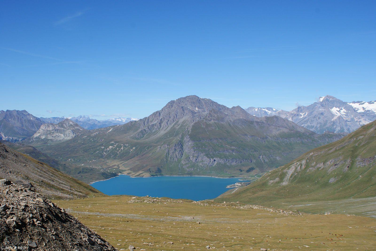Ballade au dessus du mont -Cenis.