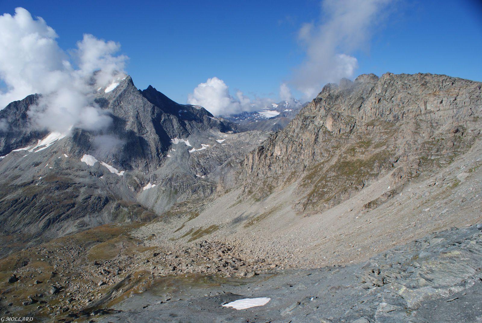 Refuge du Plan Sec/Col de la roche Chevrière/ Col de Rosoire/