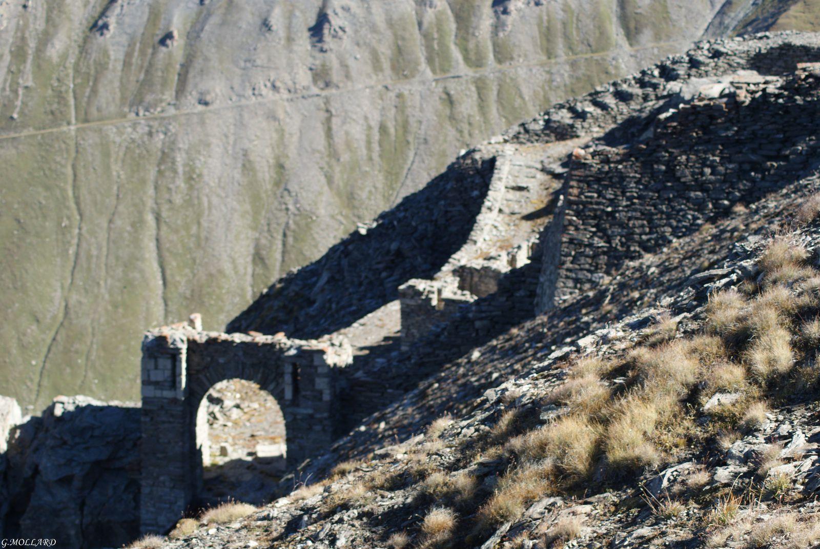 Le Mont Froid/Haute Maurienne/Mont Cenis/Plus haut ouvrage militaire de Savoie