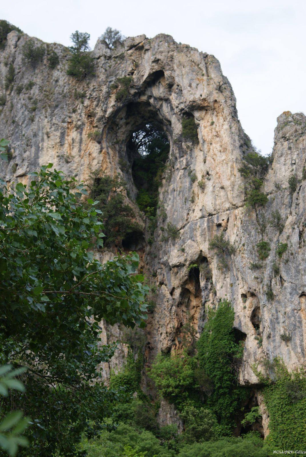 Les Gorges de L'Ardèche, de Vallon Pont D'arc à St Martin D'Ardèche.