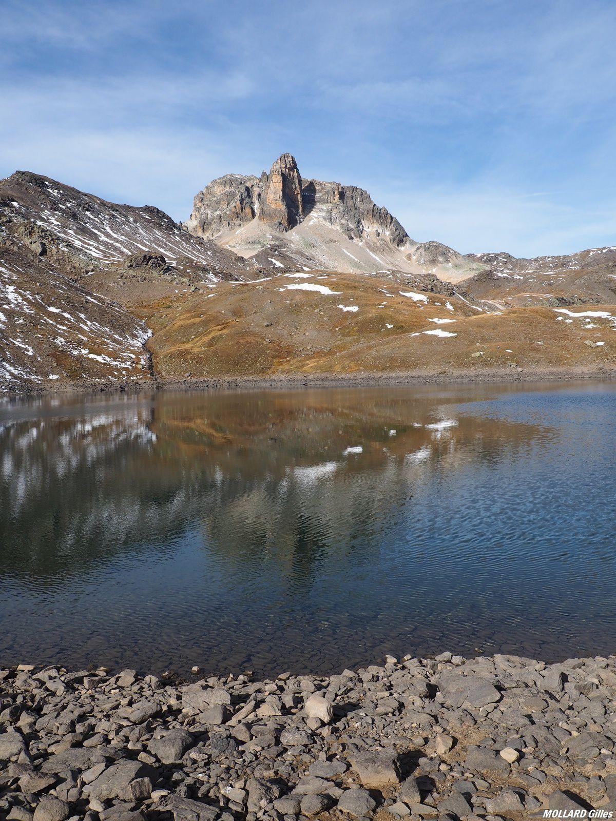 le lac Rond 2502m