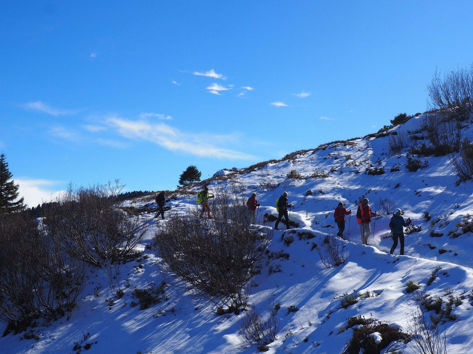 La haut Rando en boucle du coté du grand Chat Belledonne Nord st Alban des Hurtiéres
