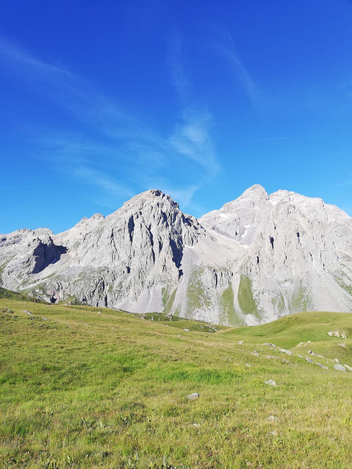 Le col Termier 2900 m par La-Haut Rando Valloire Galibier