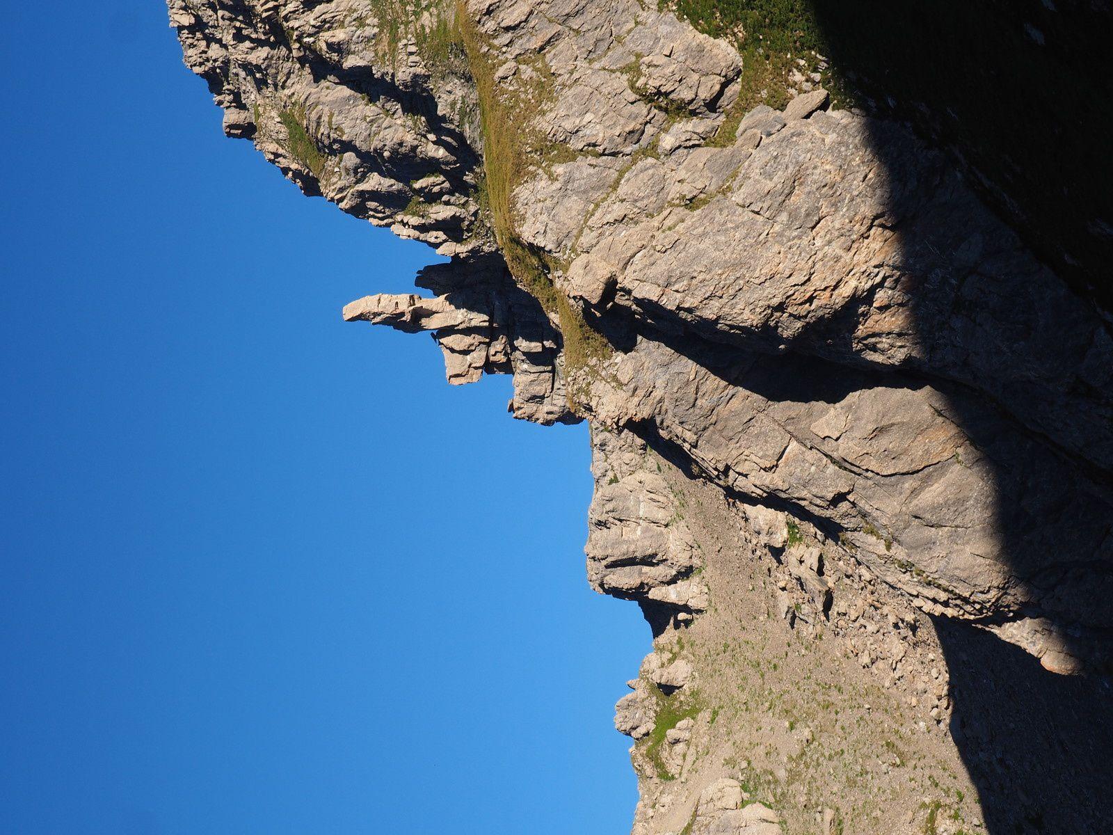 Étranges rochers.