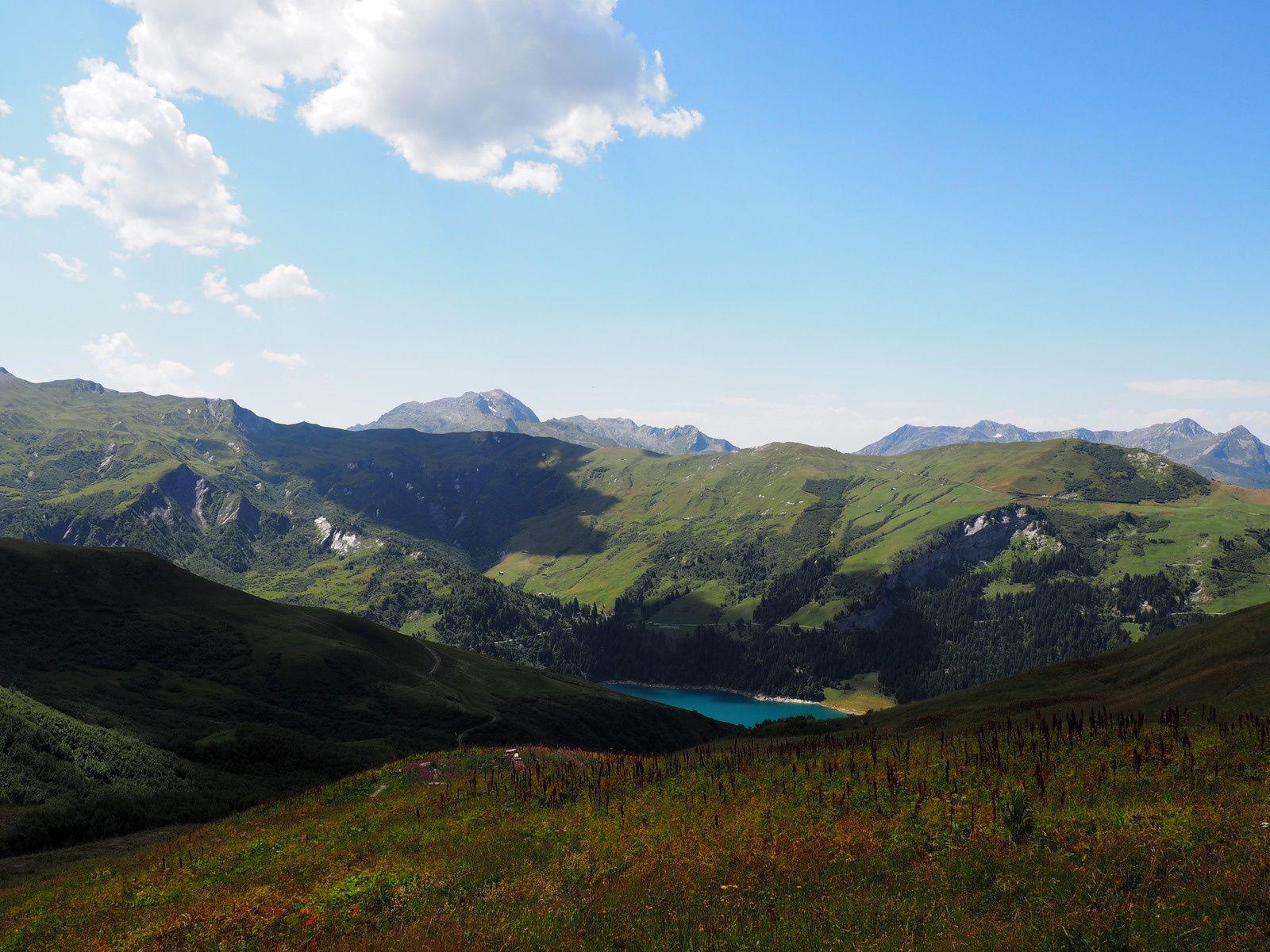 Grande Berge atteinte nous entamons la dernière descente sur treicol .