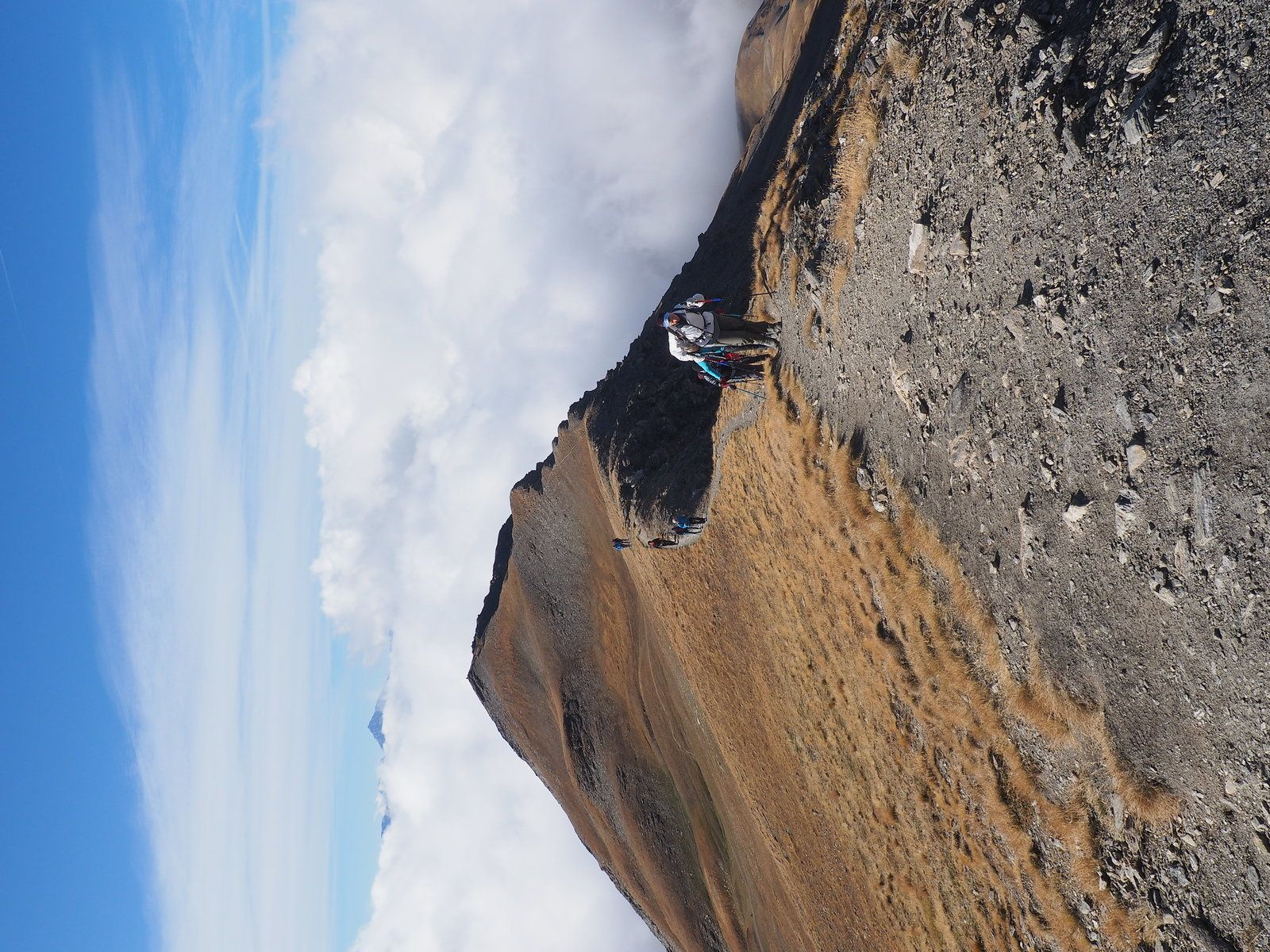 La pointe de Lanserlia 2909 m, Termignon, Bellecombe