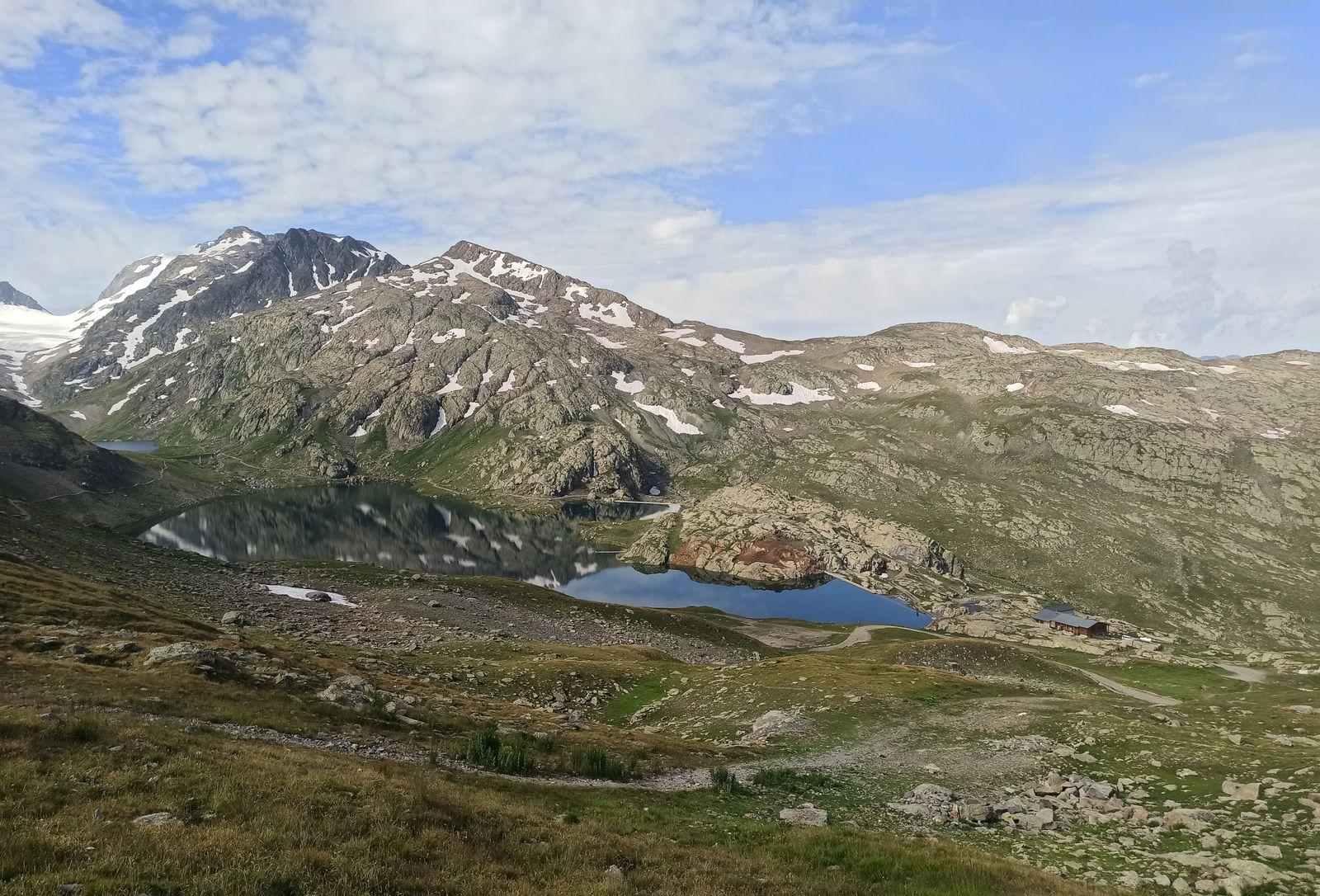 Lac Bramant et refuge de l'Étendard