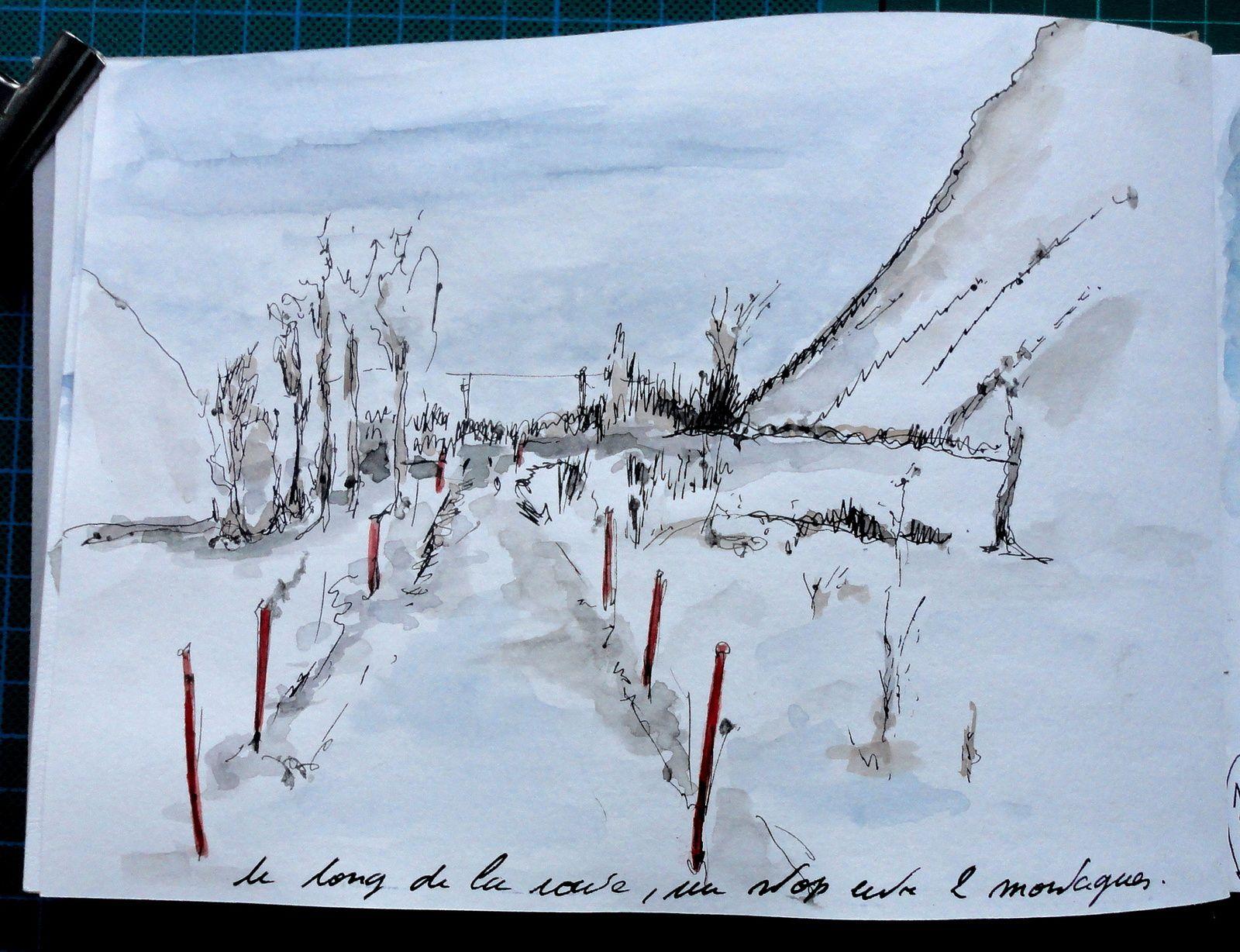 Carnet de voyage Norvège Mars 2017 / 1er étape