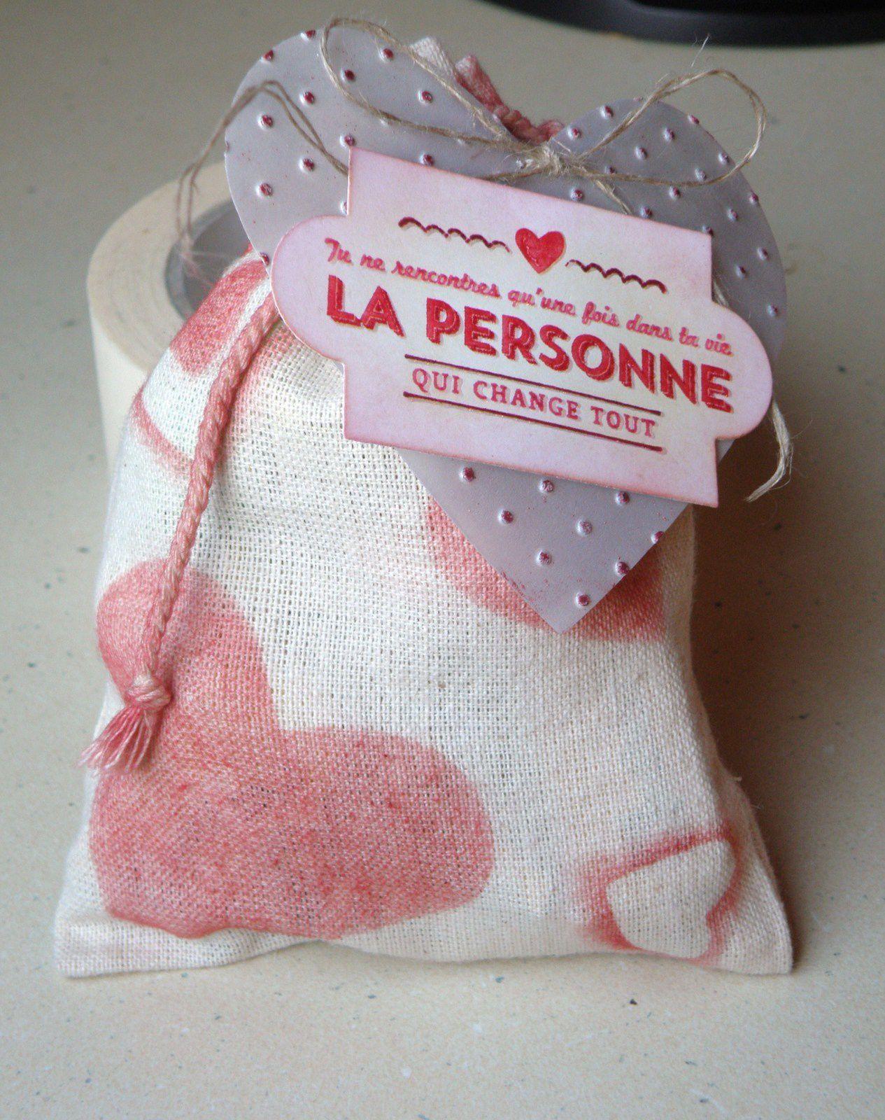 Sac Mousseline 2 : Saint Valentin