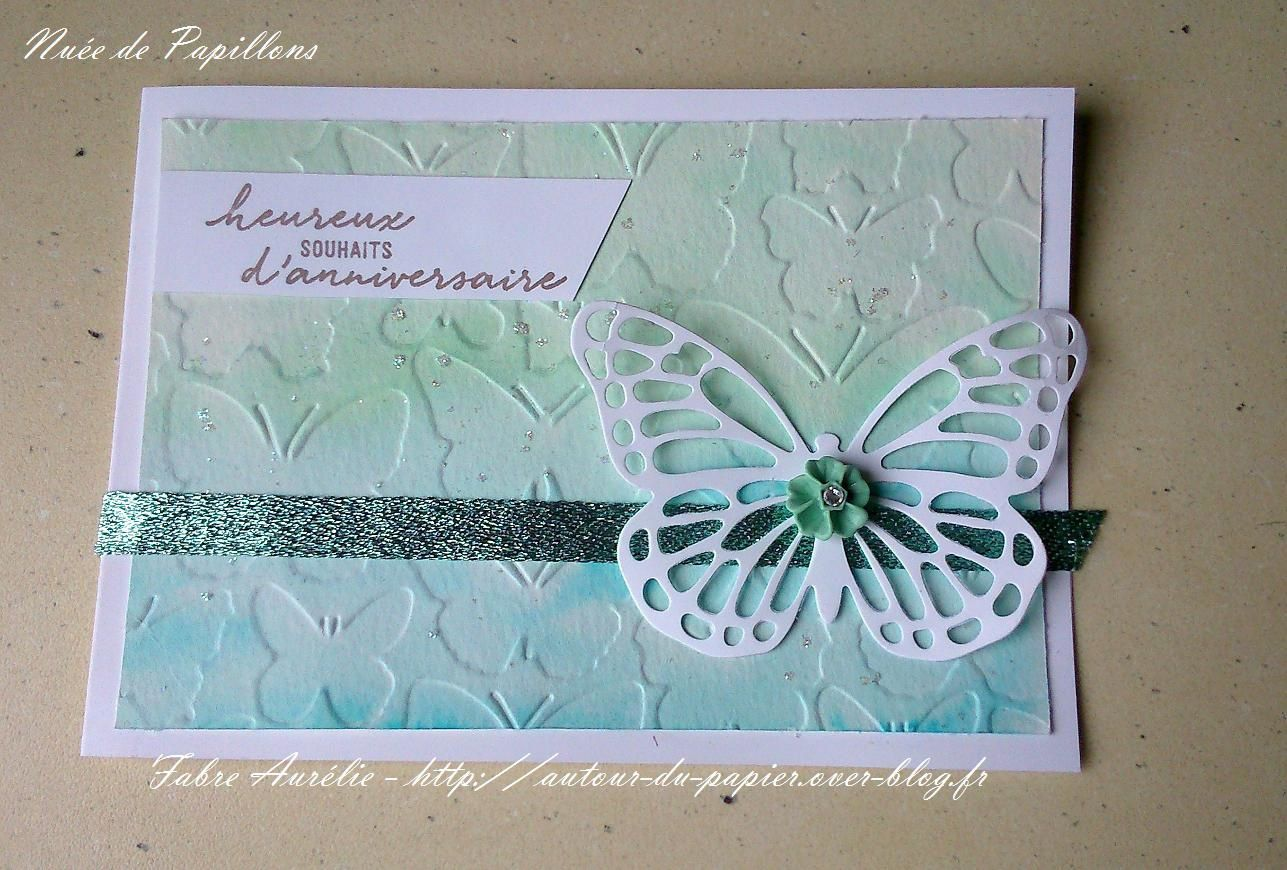 Carte Aquarelle Papillon
