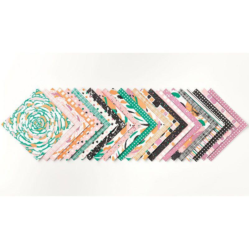 Pile de papier Design Palette d'artiste p118