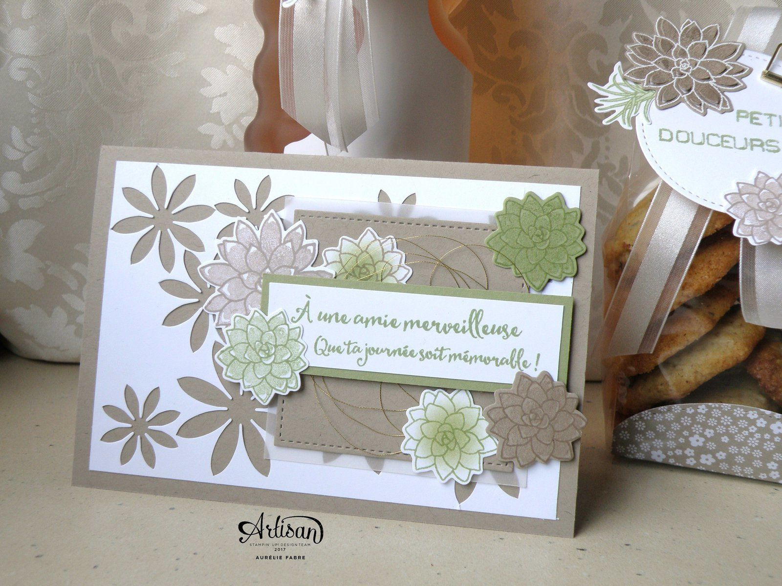 Blog Hop Avril ! Artisan Design Team ! Ensemble cadeaux Si Succulent !