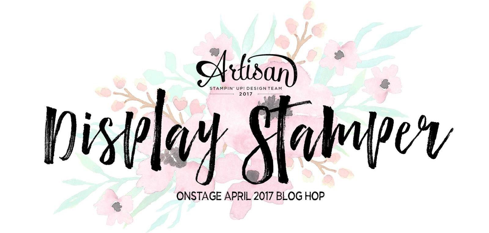 On Stage Avril 2017 Blog Hop ! Jour 4
