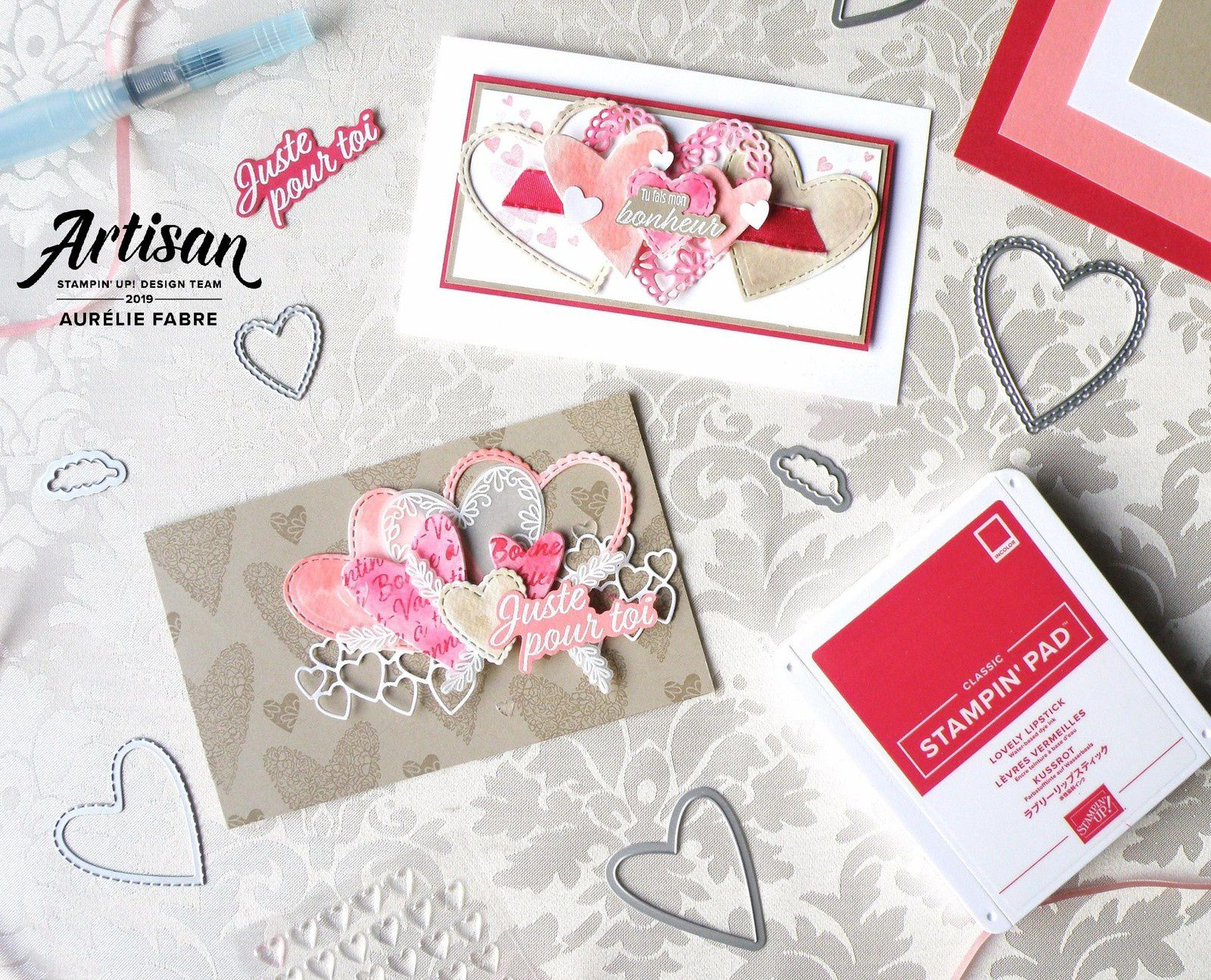 Artisan Blog Hop 1 - All My Love