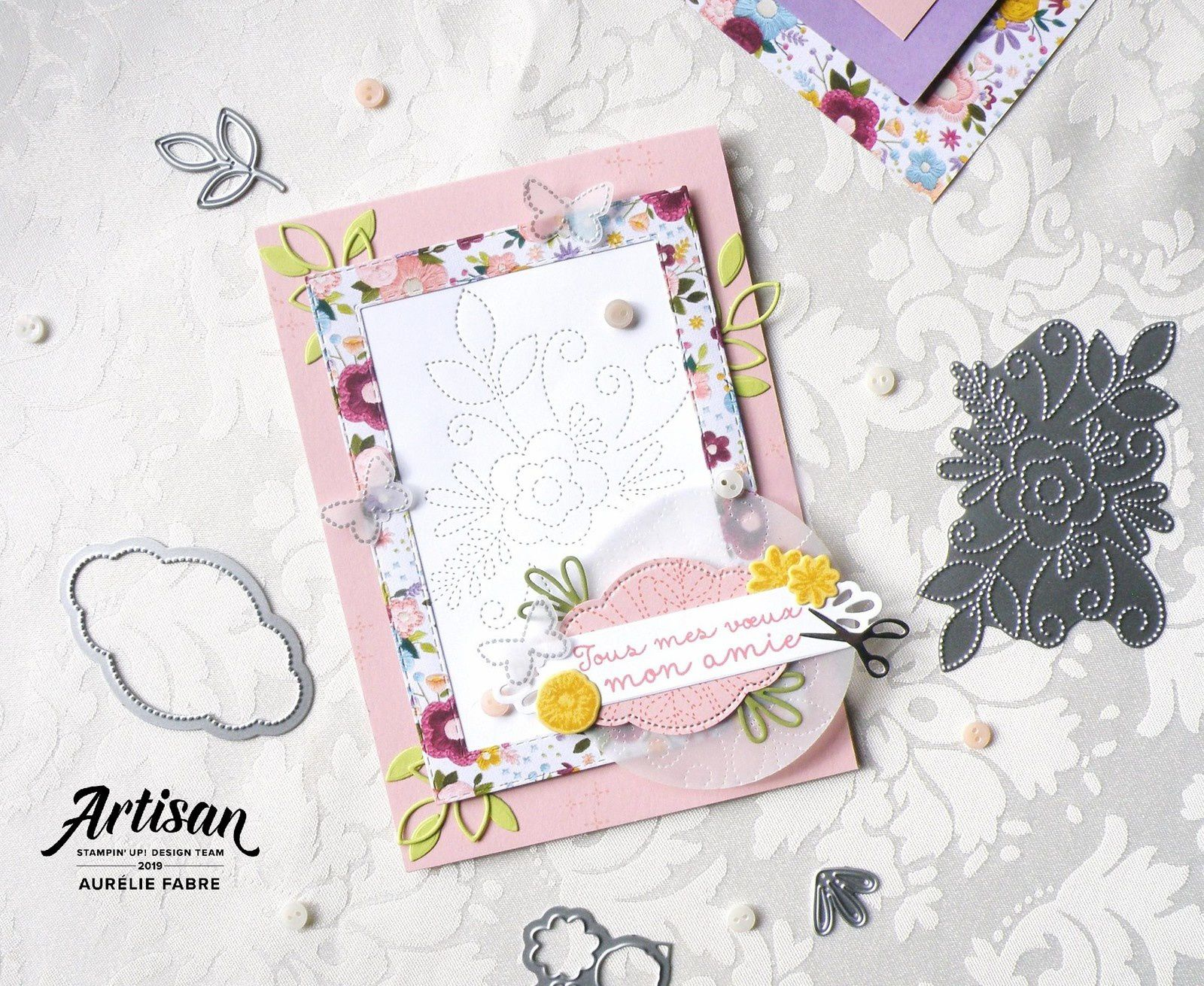 Artisan Design Team Blog Hop - Coin de Broderie