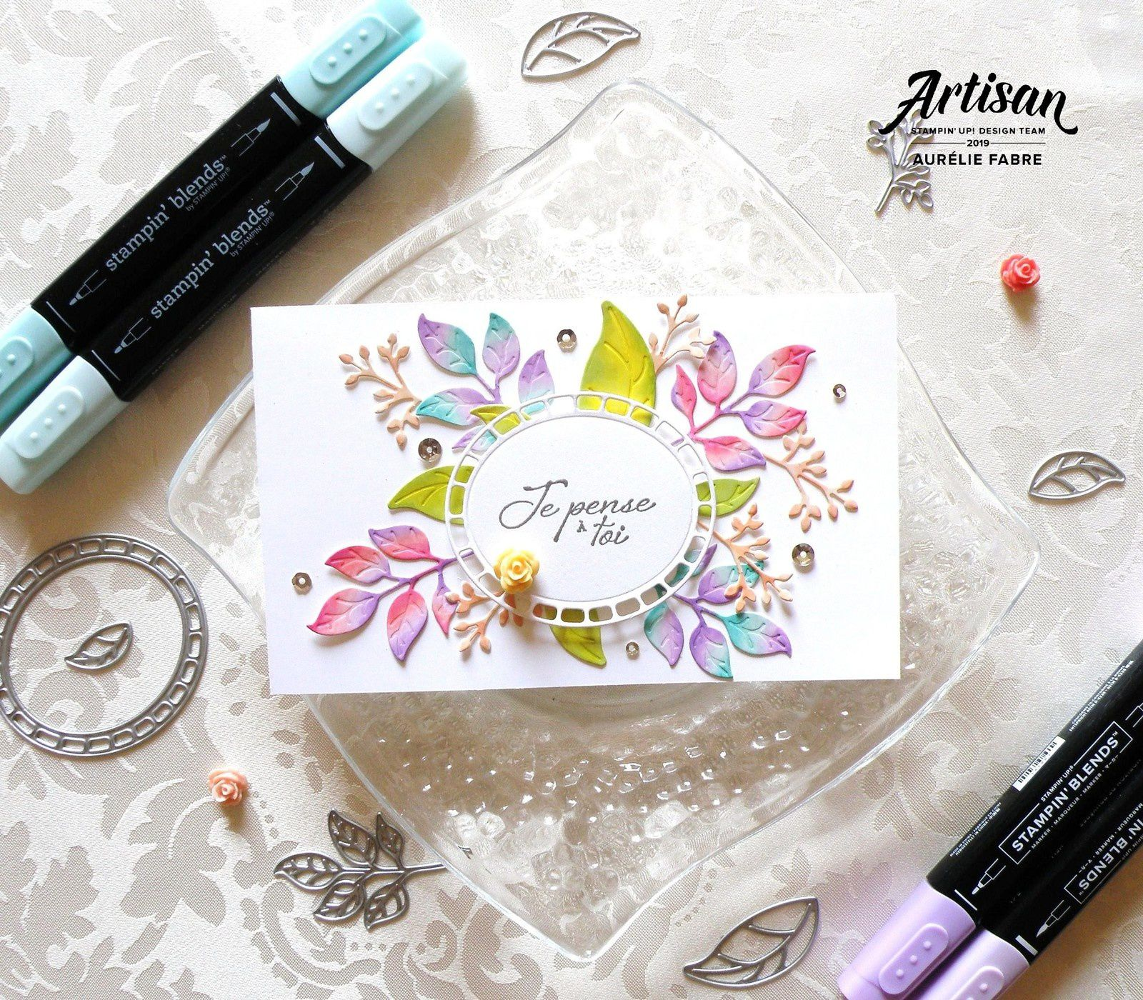 Watercolor VS Stampin'Blends