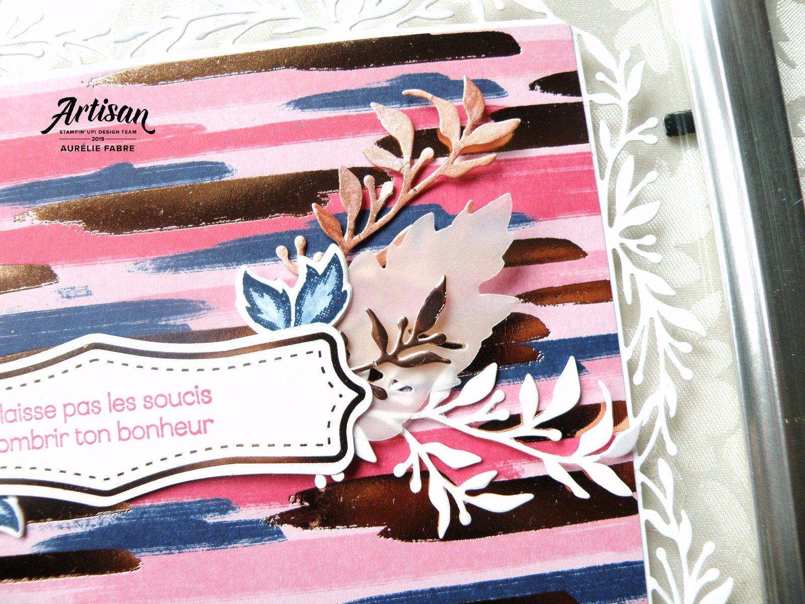 Détails du cadre fleuri - Aurélie Fabre