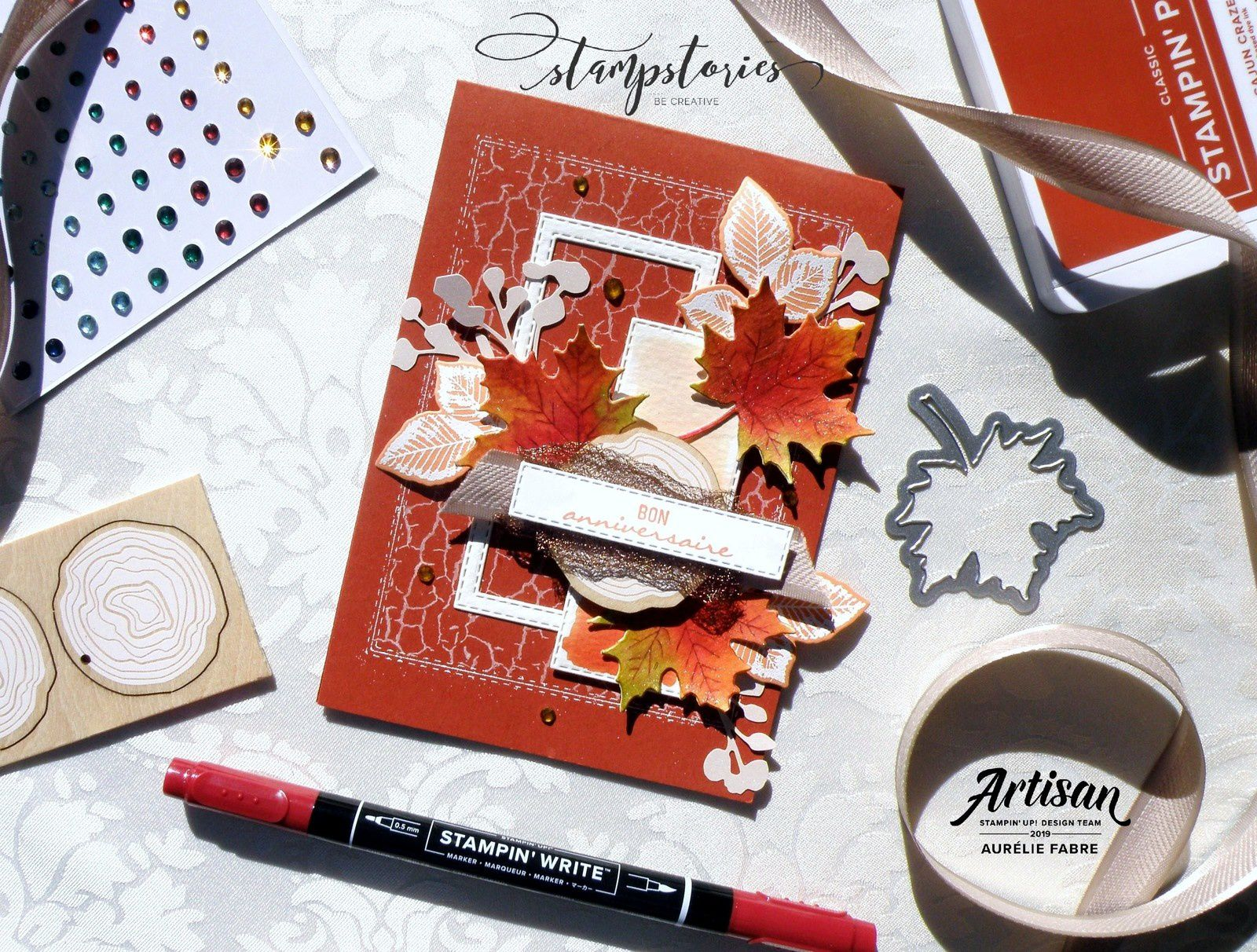 Stampstories - Carte automnale