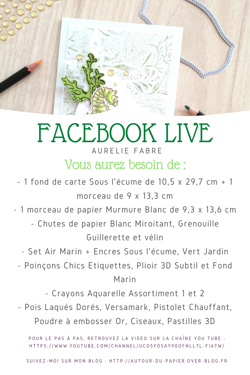 Facebook Live la reprise !