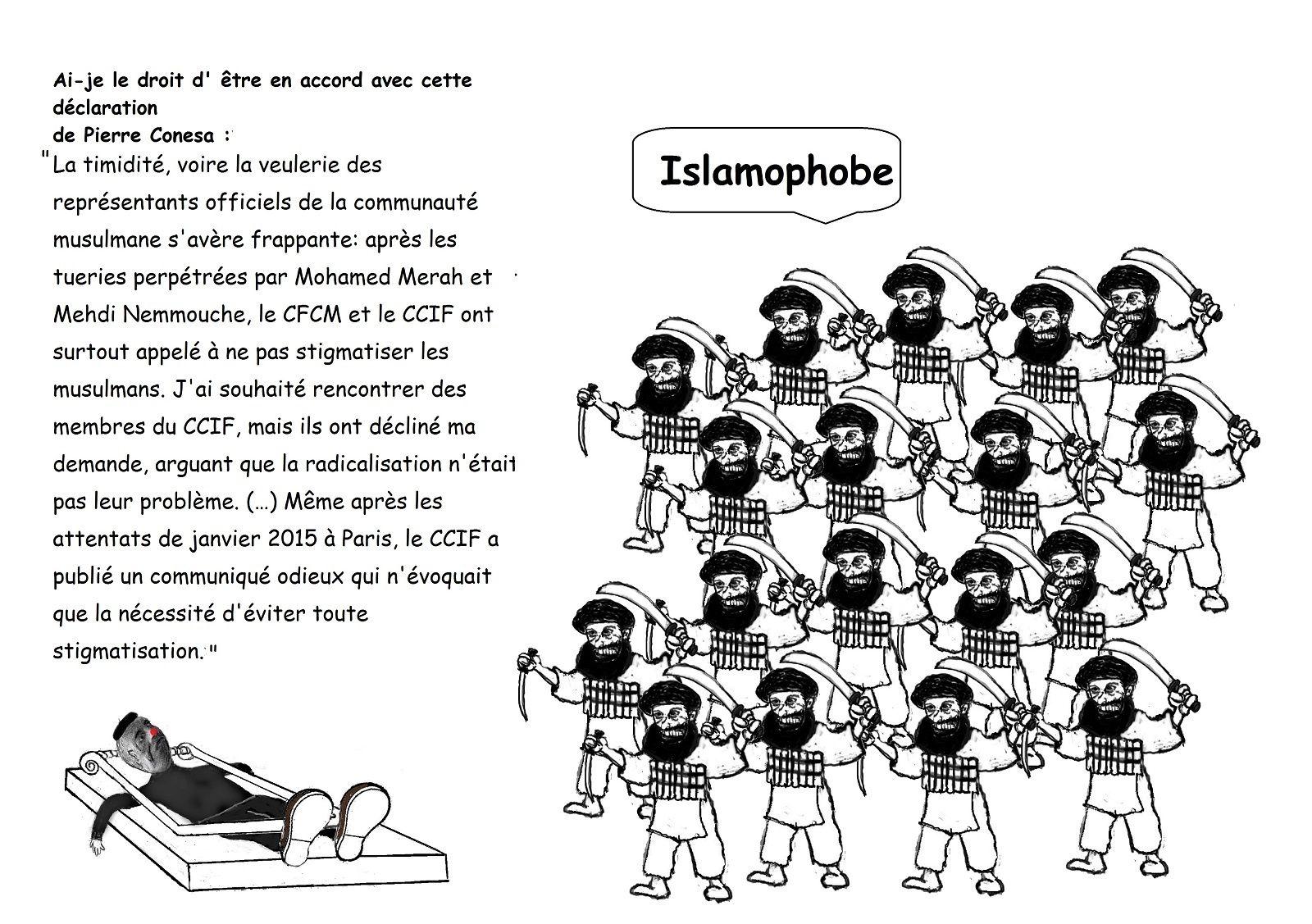 """""""Nous sommes en guerre"""" contre l'islamisme mais nous ne sommes pas assez protégés par nos gouvernements en Europe."""