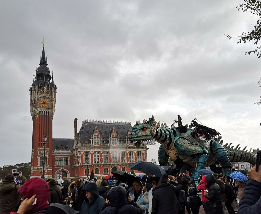 24 Heures/photo : le dragon
