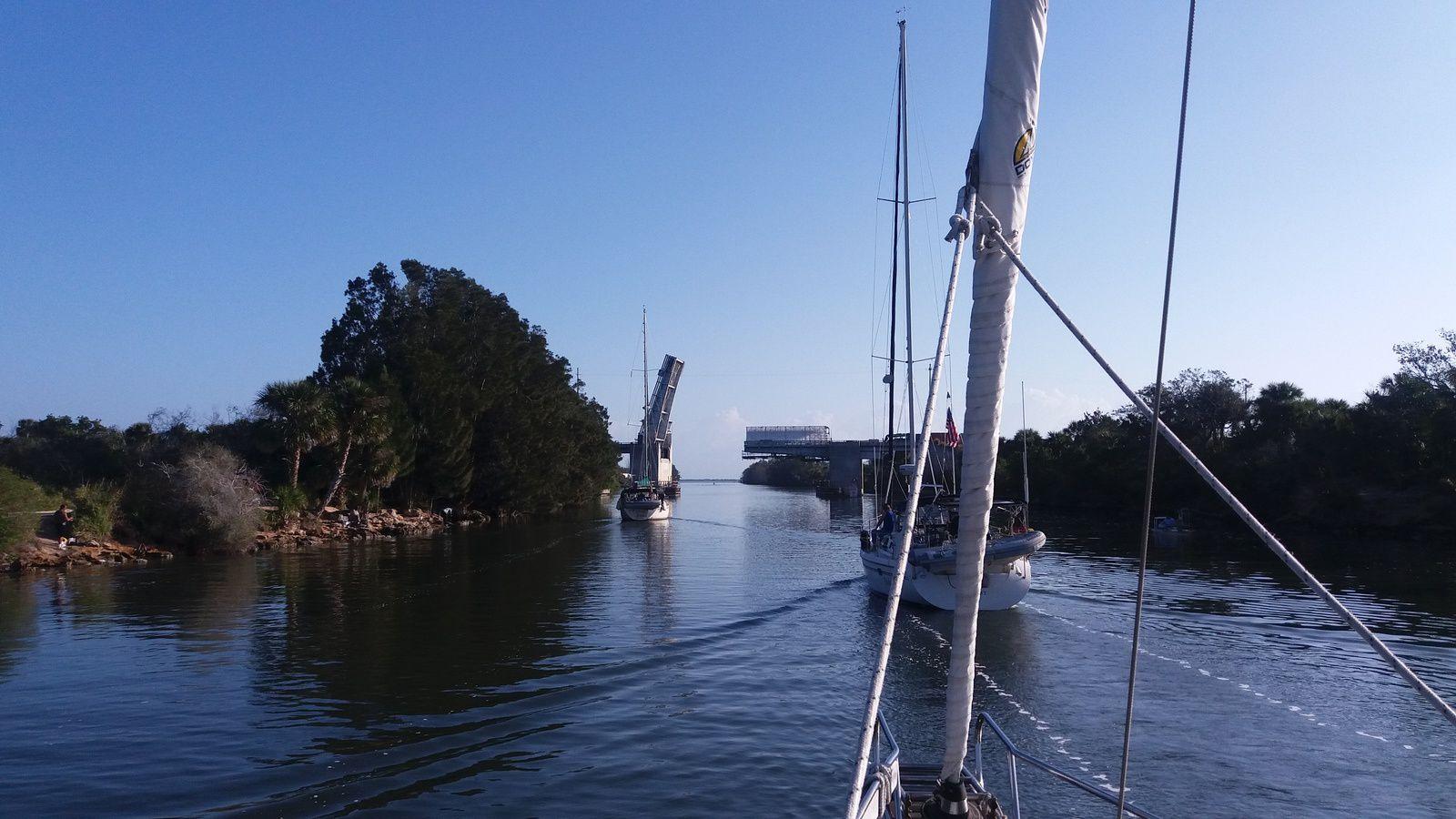 Pont en réparation dans les environs de Cap Canaveral