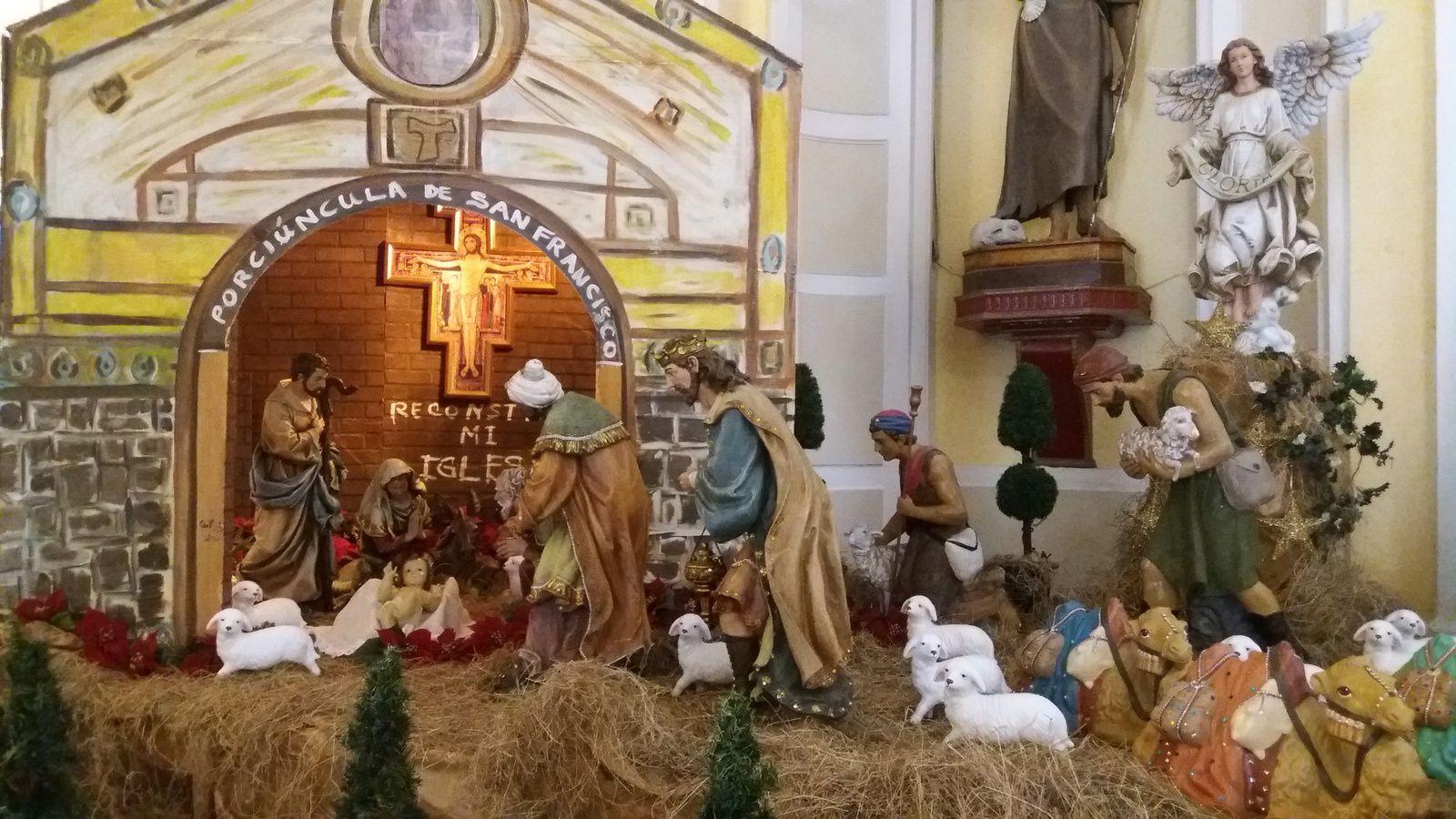 Crèche de Noël à San Juan