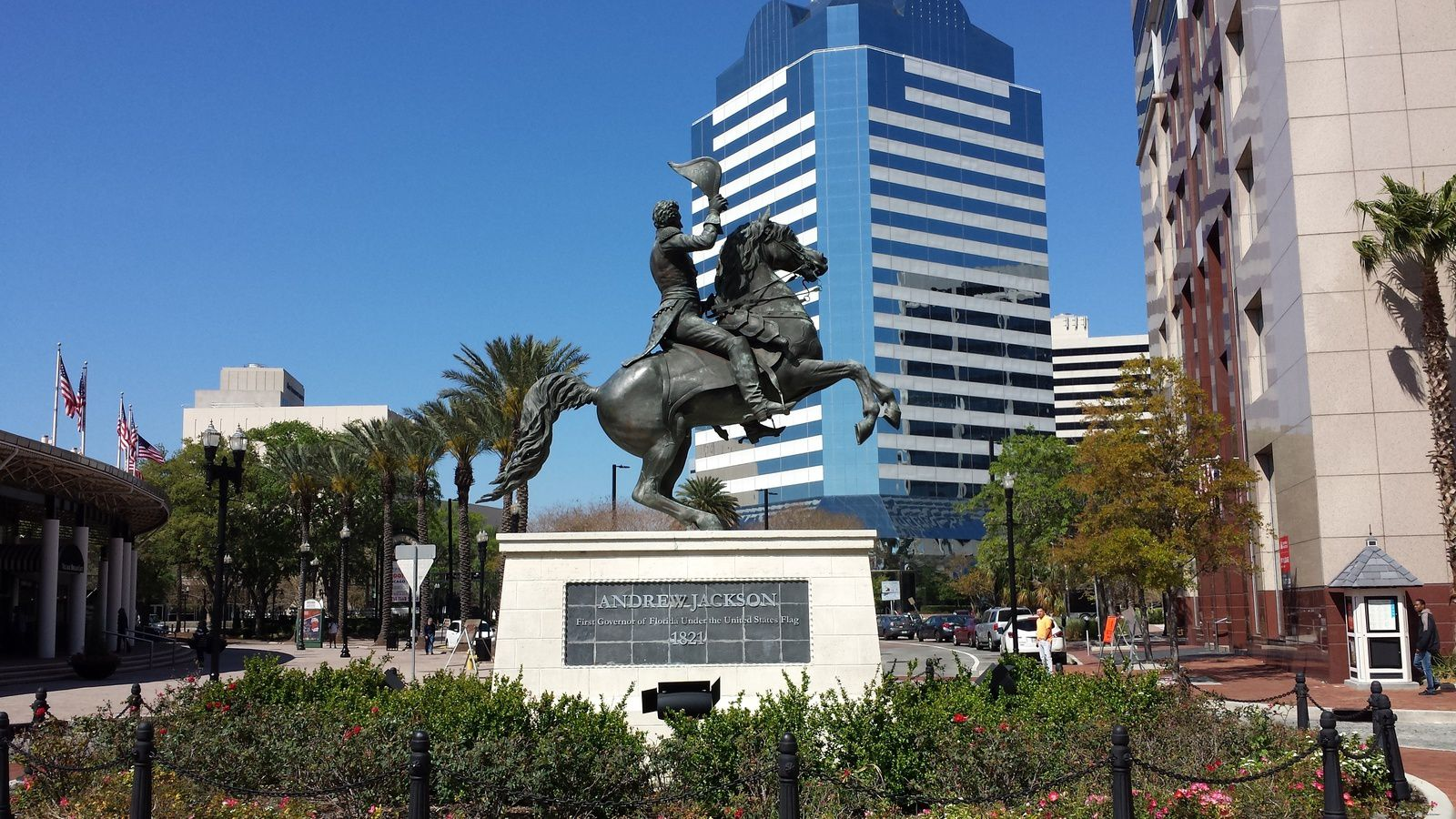 La ville de Jacksonville et son fondateur