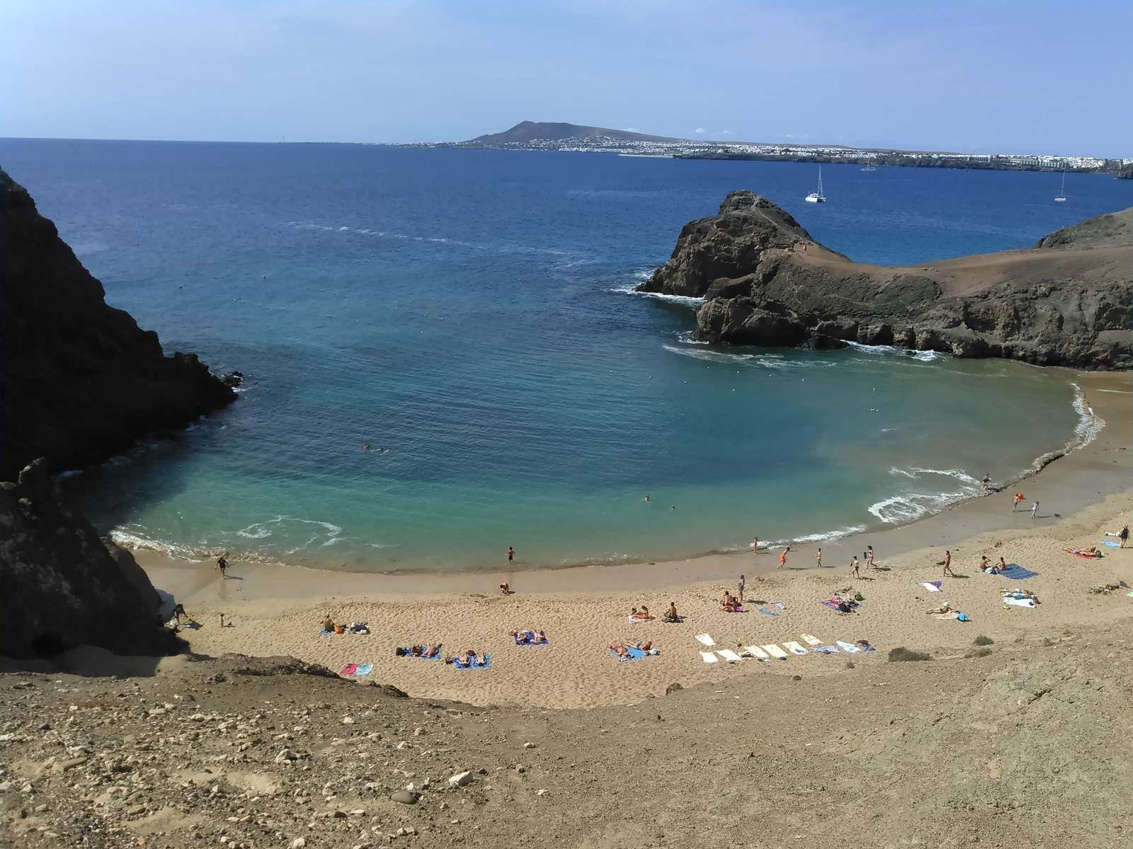 Lanzarote : vamos à la playa