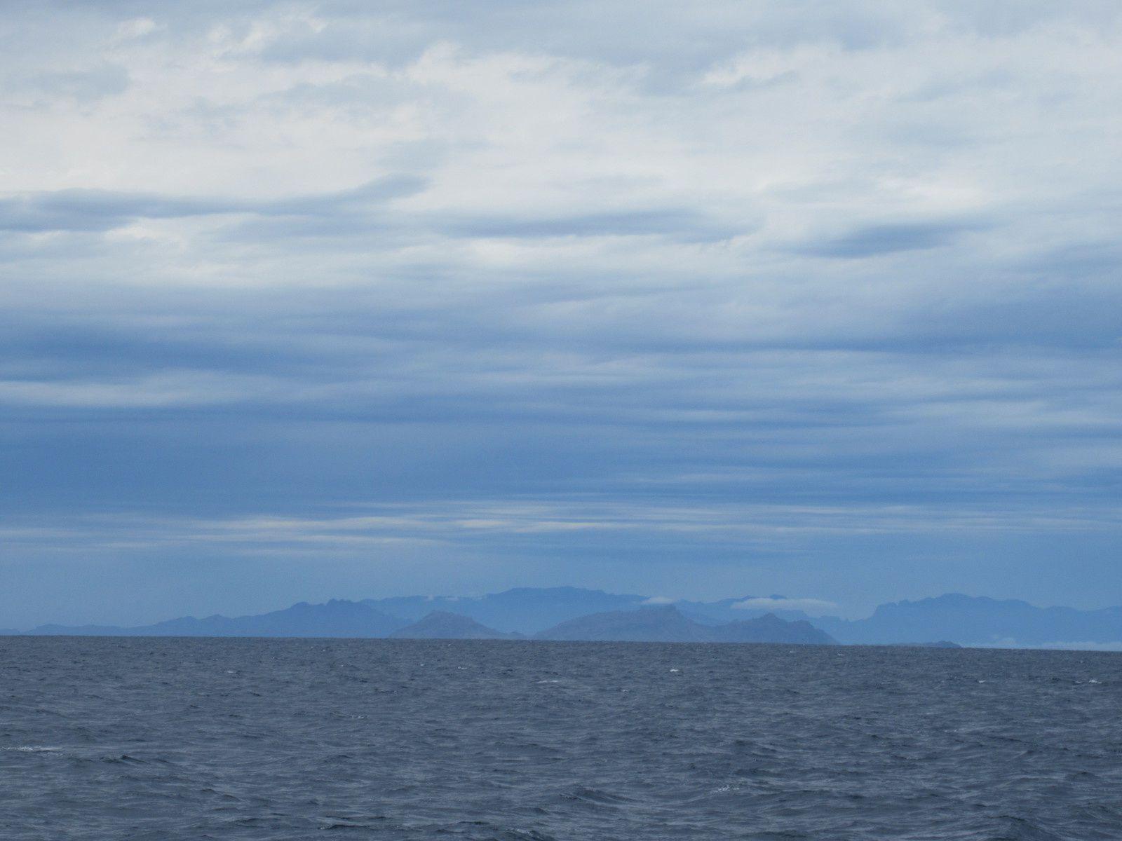 En route vers l'Ilha de Santa Luzia