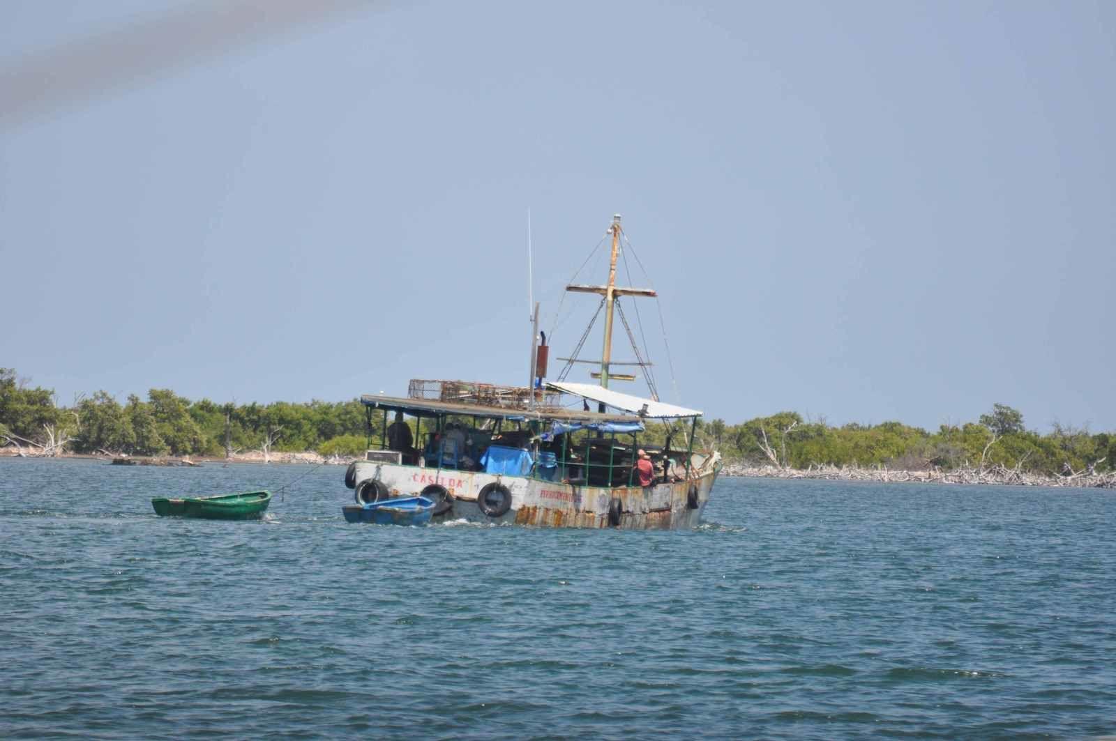 Cayo Breton :avec les pêcheurs des Jardins de la Reine
