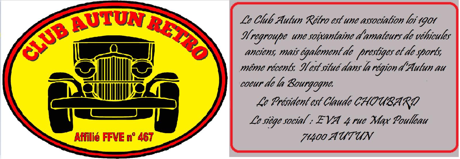 Bienvenue sur le site du Club Autun Rétro
