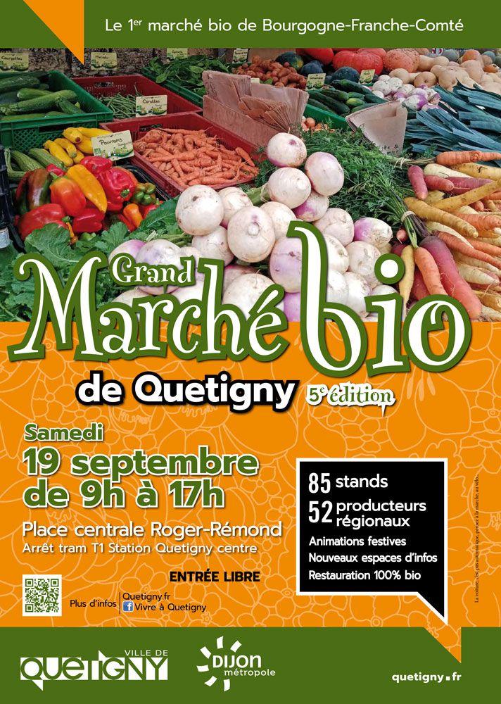 Grand Marché Bio de Quetigny Samedi 19 Septembre