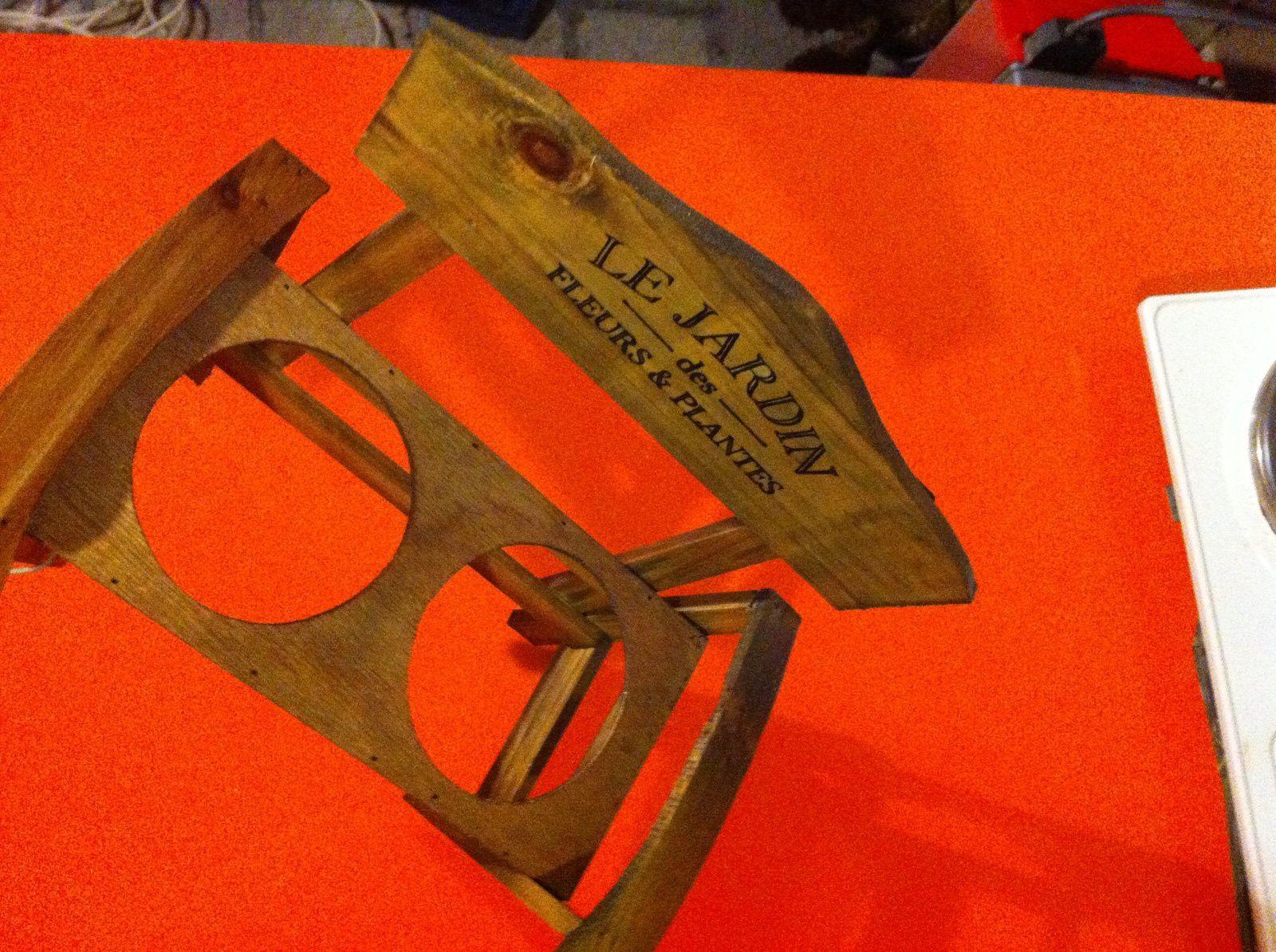 accessoires en bois