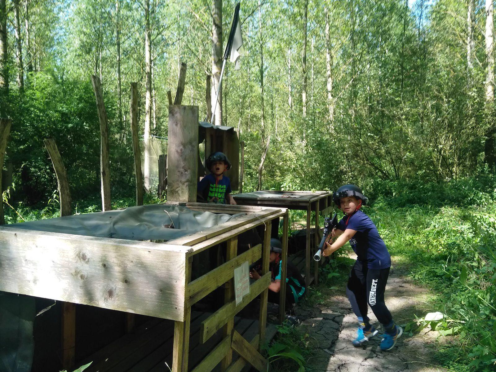 stage mutli activités nature 7-9 ans semaine du 30/07 au 03/08