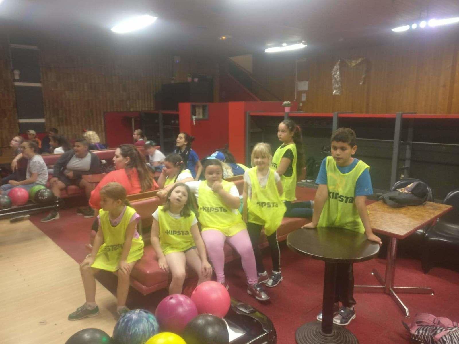 groupe des 8-9 ans - Sortie bowling - Centre Lavoisier