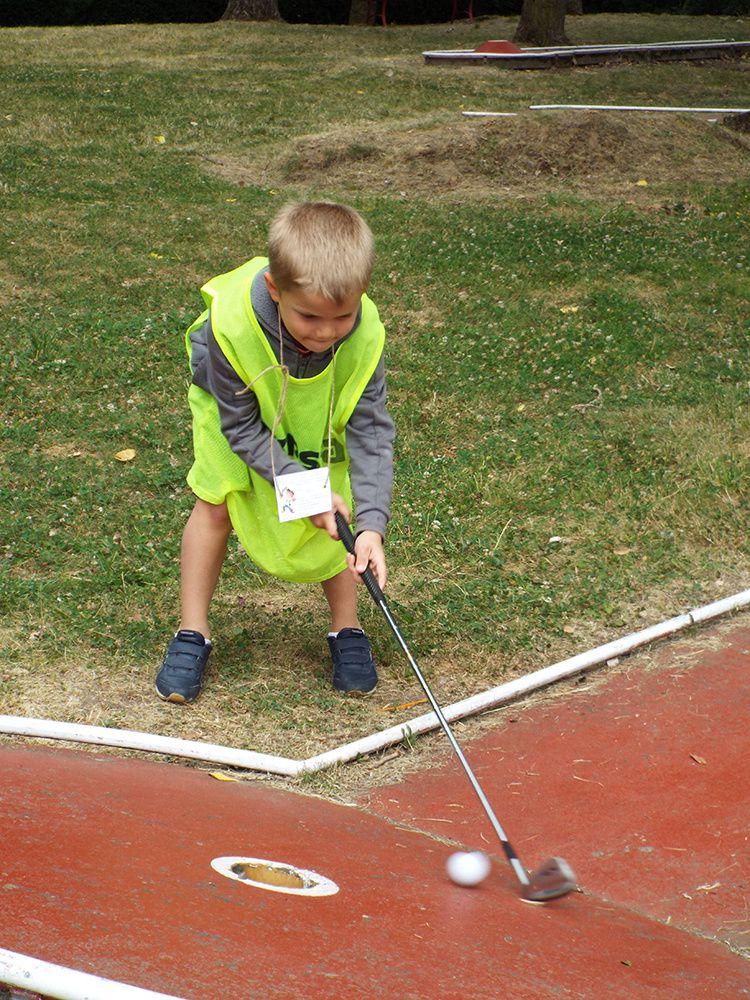 Anatole France - Mini golf - 15/07 - 6 ans