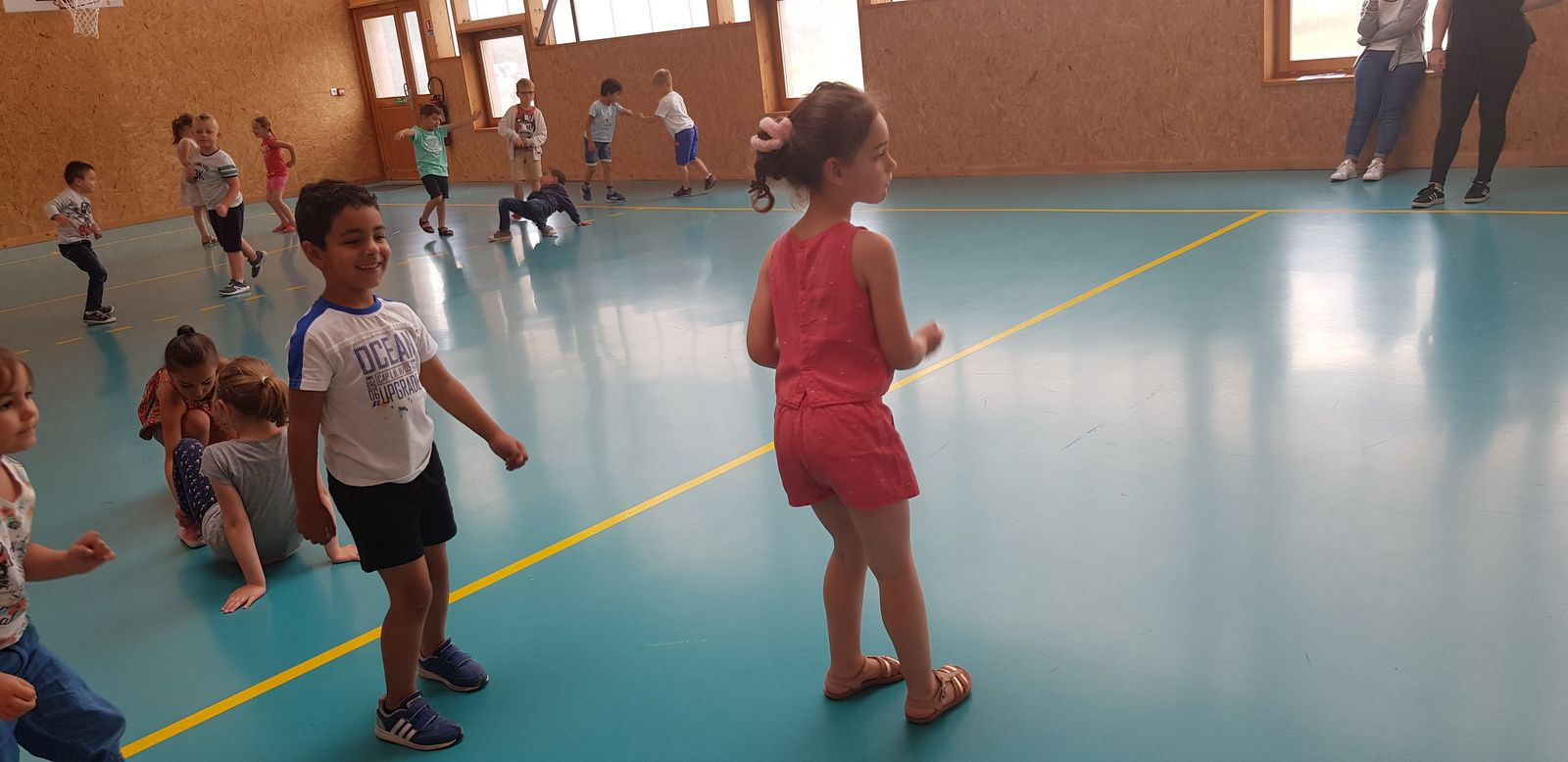 Anatole France maternelle - Capoera - 6 ans