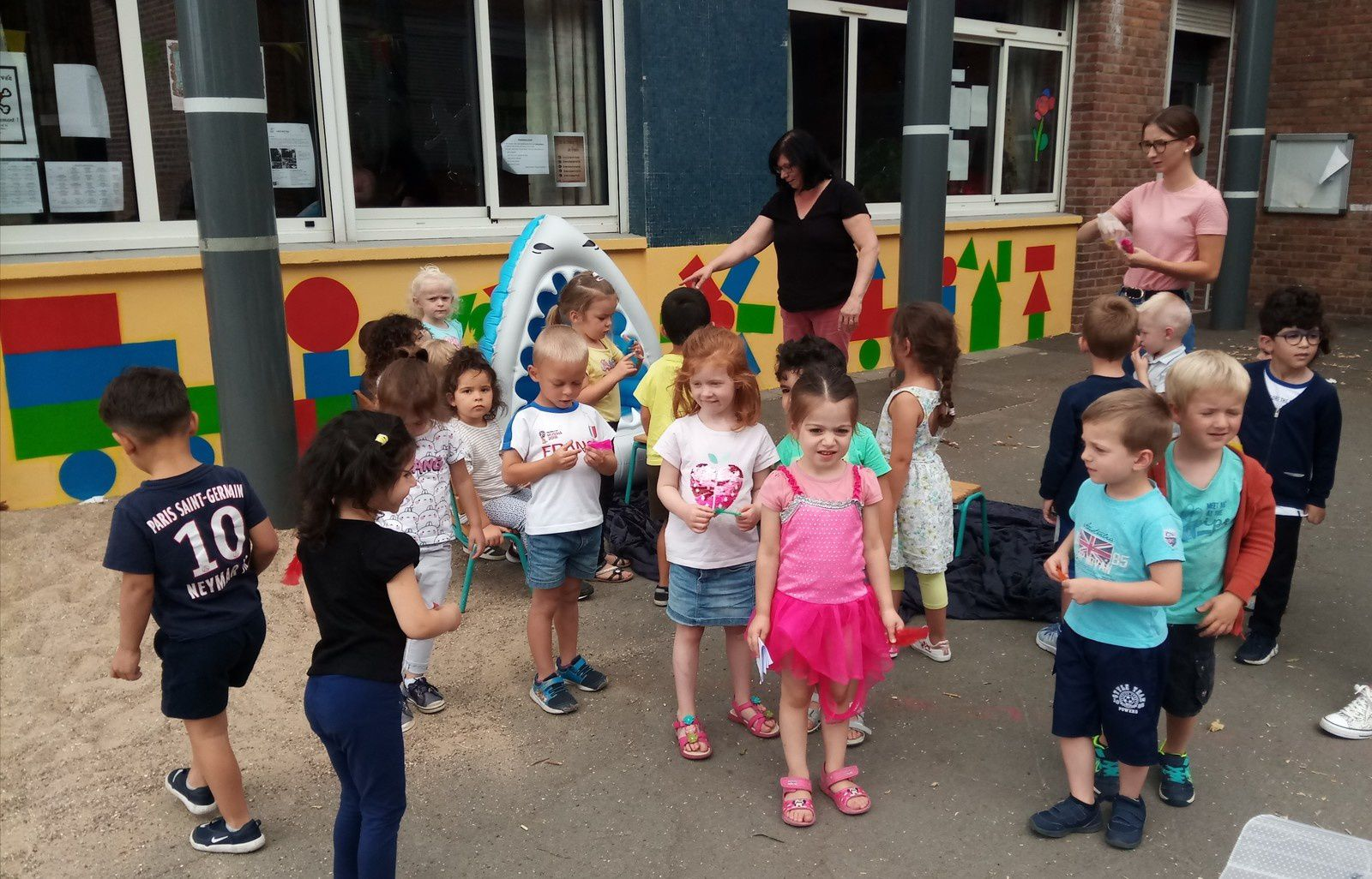 Camus maternelle - Spectacle Wendy et Peter Pan - 19/07