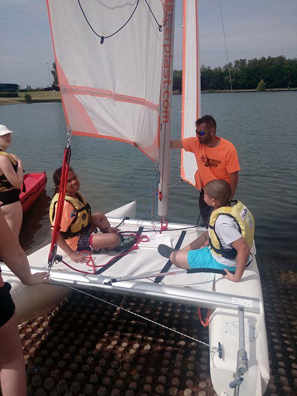 Activités nautiques Wingles - 11/13 ans