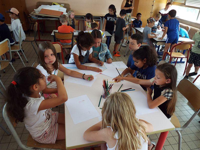 Camus primaire - Atelier dessin - 22/07