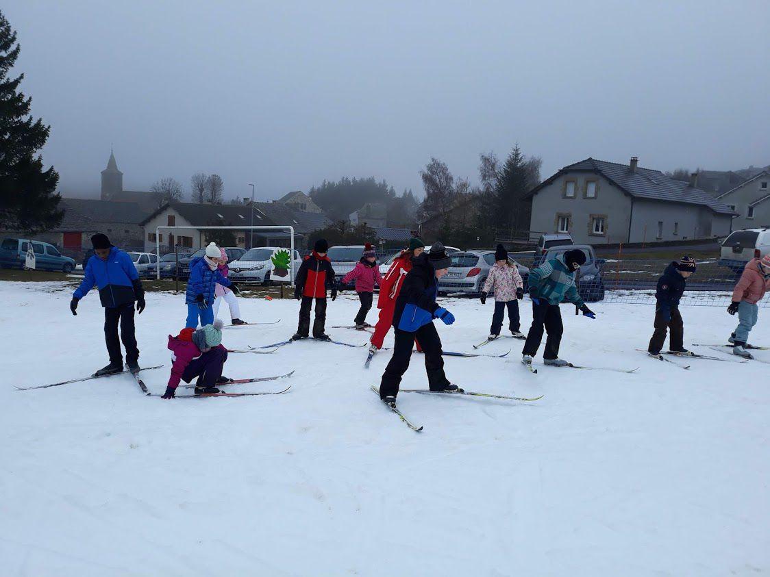 Les Estables : le ski de fond