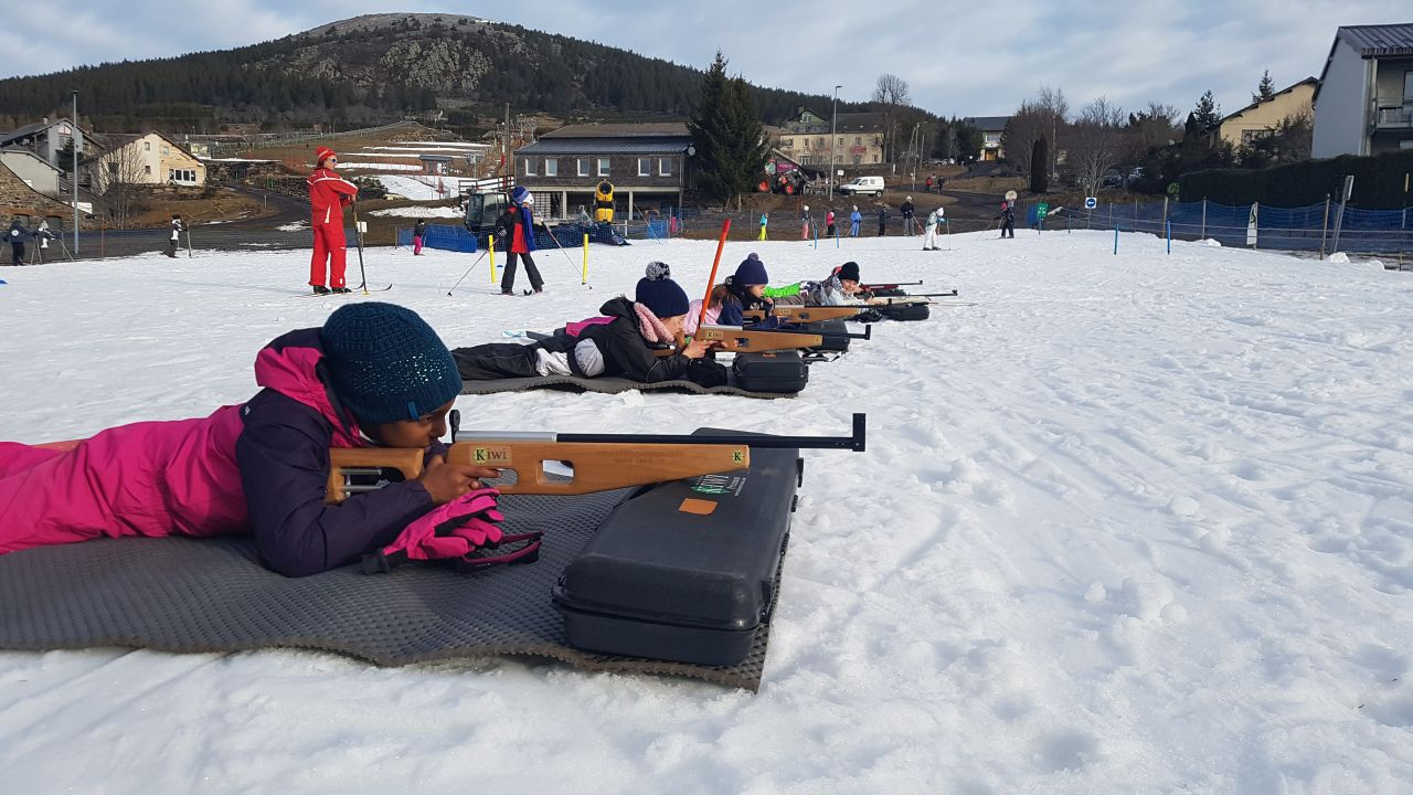 Les Estables : le biathlon