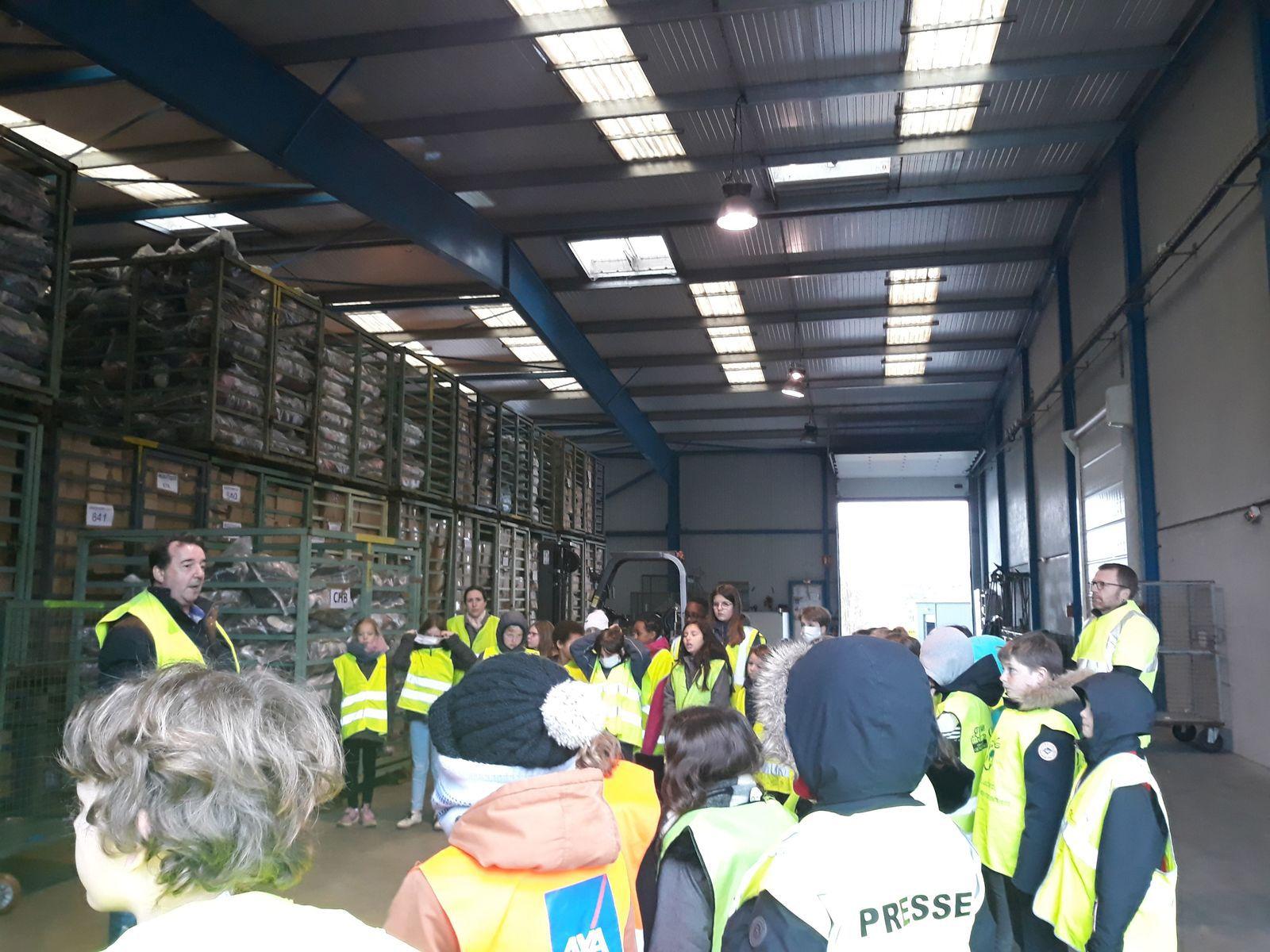 ECO-ECOLE : Visite du Relais et tri des déchets