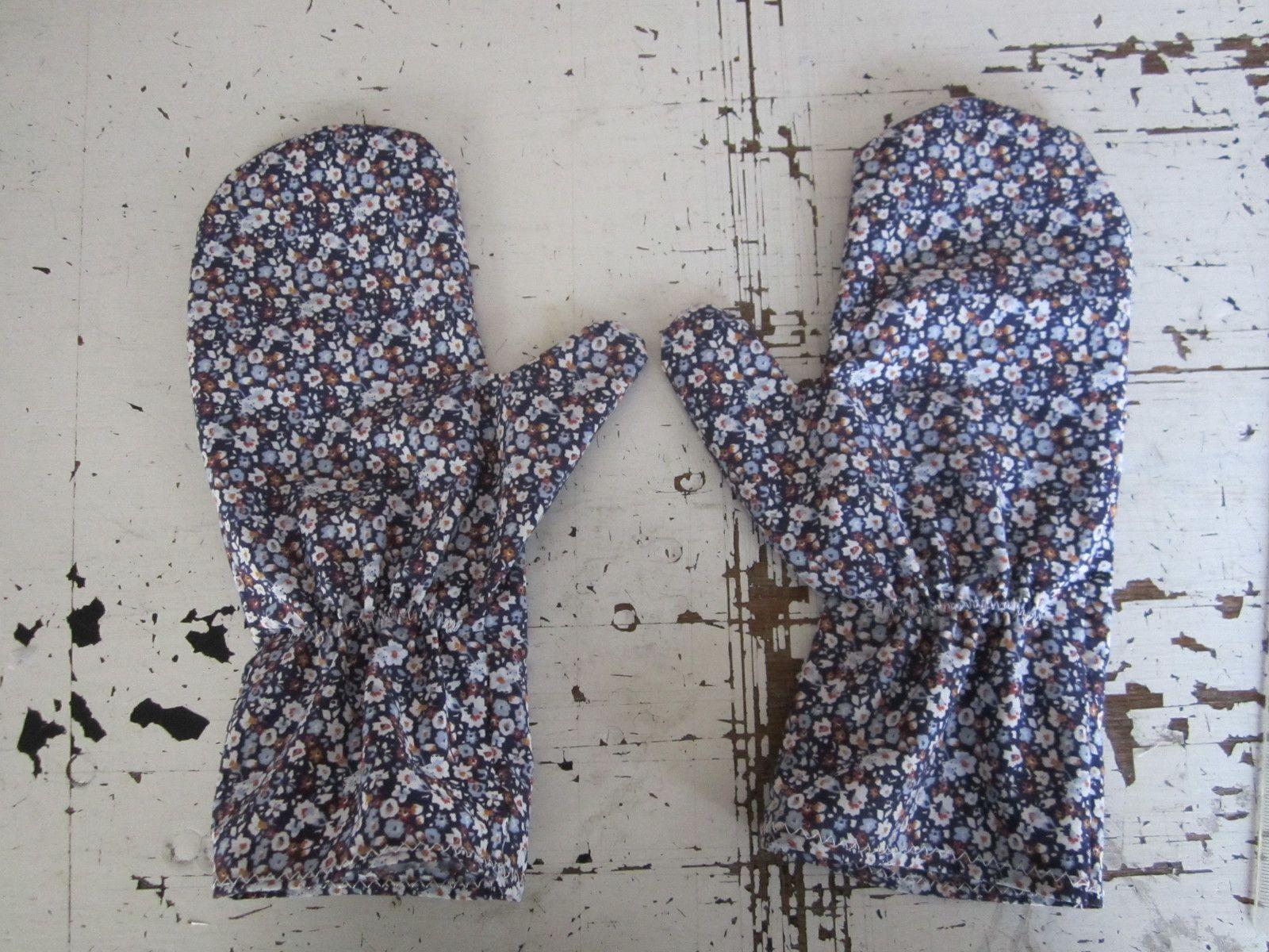 Gants ou moufles en tissus de protection (Tuto)