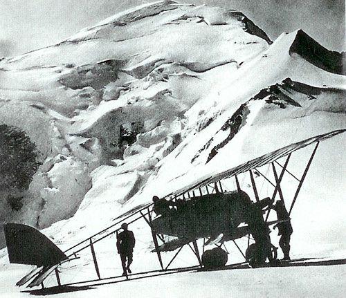 Dôme du Gouter le 30 juillet 1921 ....