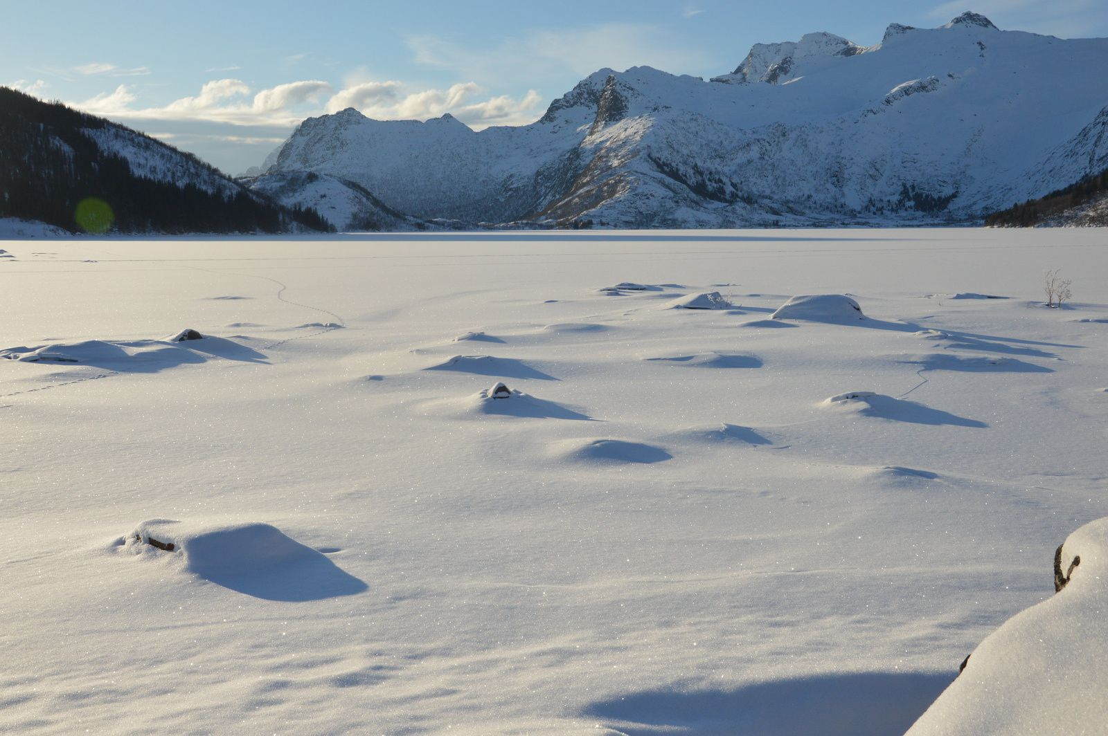 Norvège. Iles Lofoten, ile de Senja, Tromso et alentours... DU 15 au 25 février 2018.