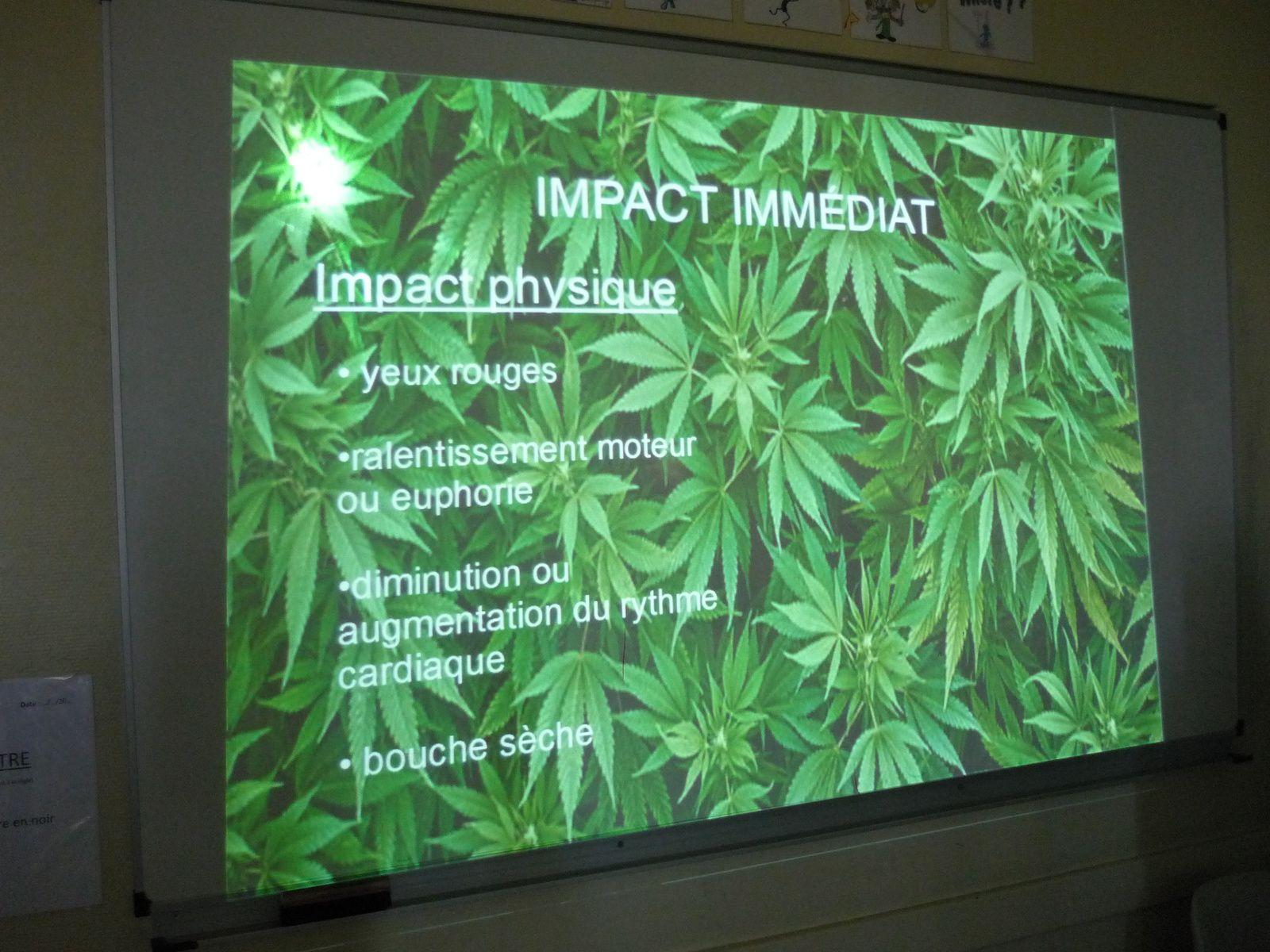 Intervention-prévention sur le cannabis